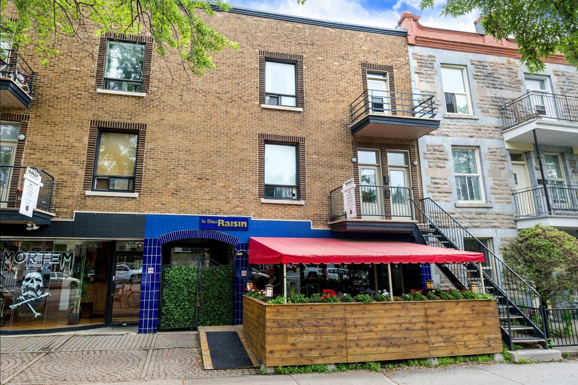 image 0 - Triplex À vendre Montréal Le Plateau-Mont-Royal  - 5 pièces