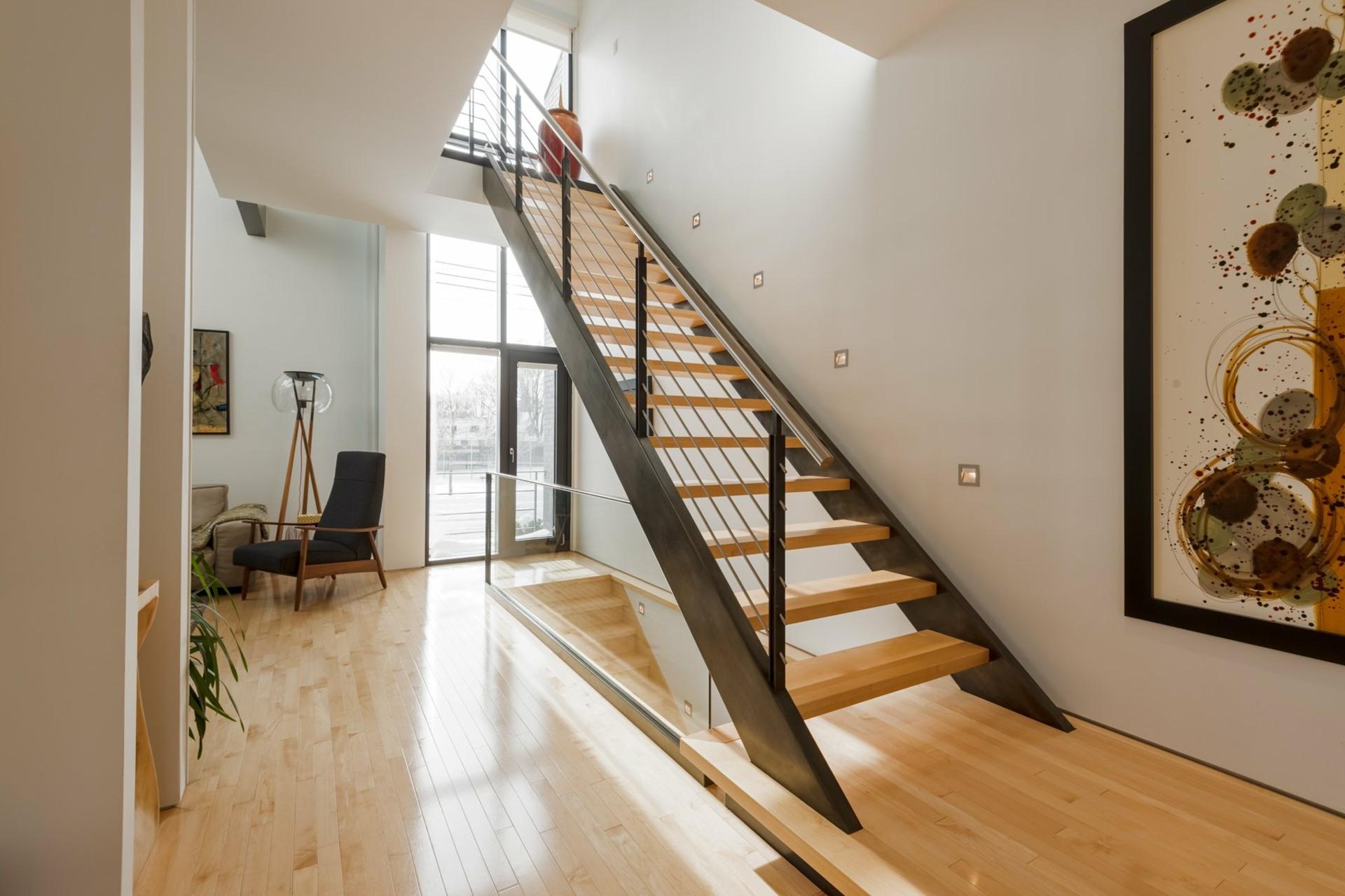 image 5 - House For sale Montréal Côte-des-Neiges/Notre-Dame-de-Grâce  - 9 rooms