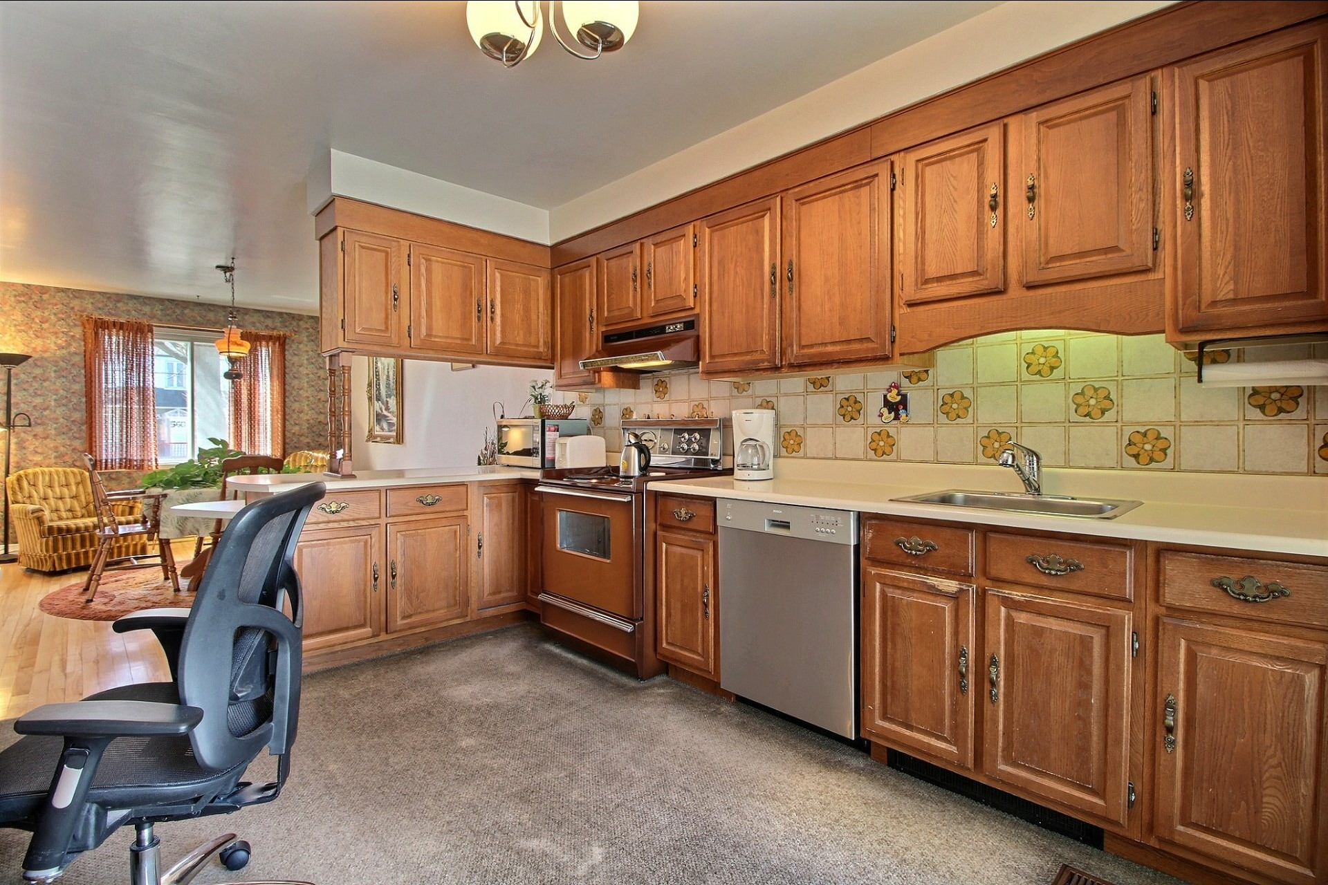 image 8 - Duplex For sale Montréal Rivière-des-Prairies/Pointe-aux-Trembles  - 6 rooms