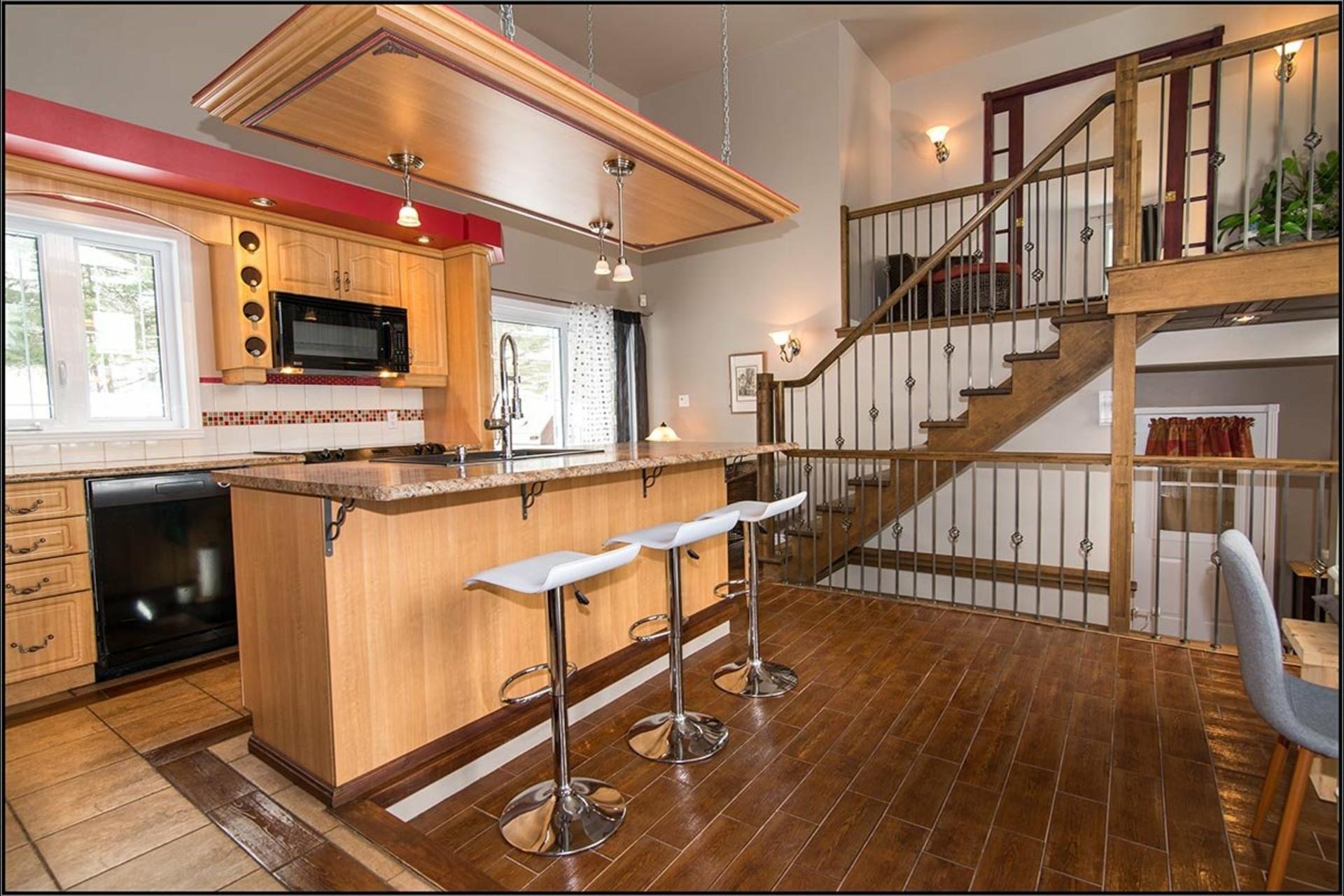 image 1 - Maison À vendre Sainte-Catherine-de-la-Jacques-Cartier - 11 pièces