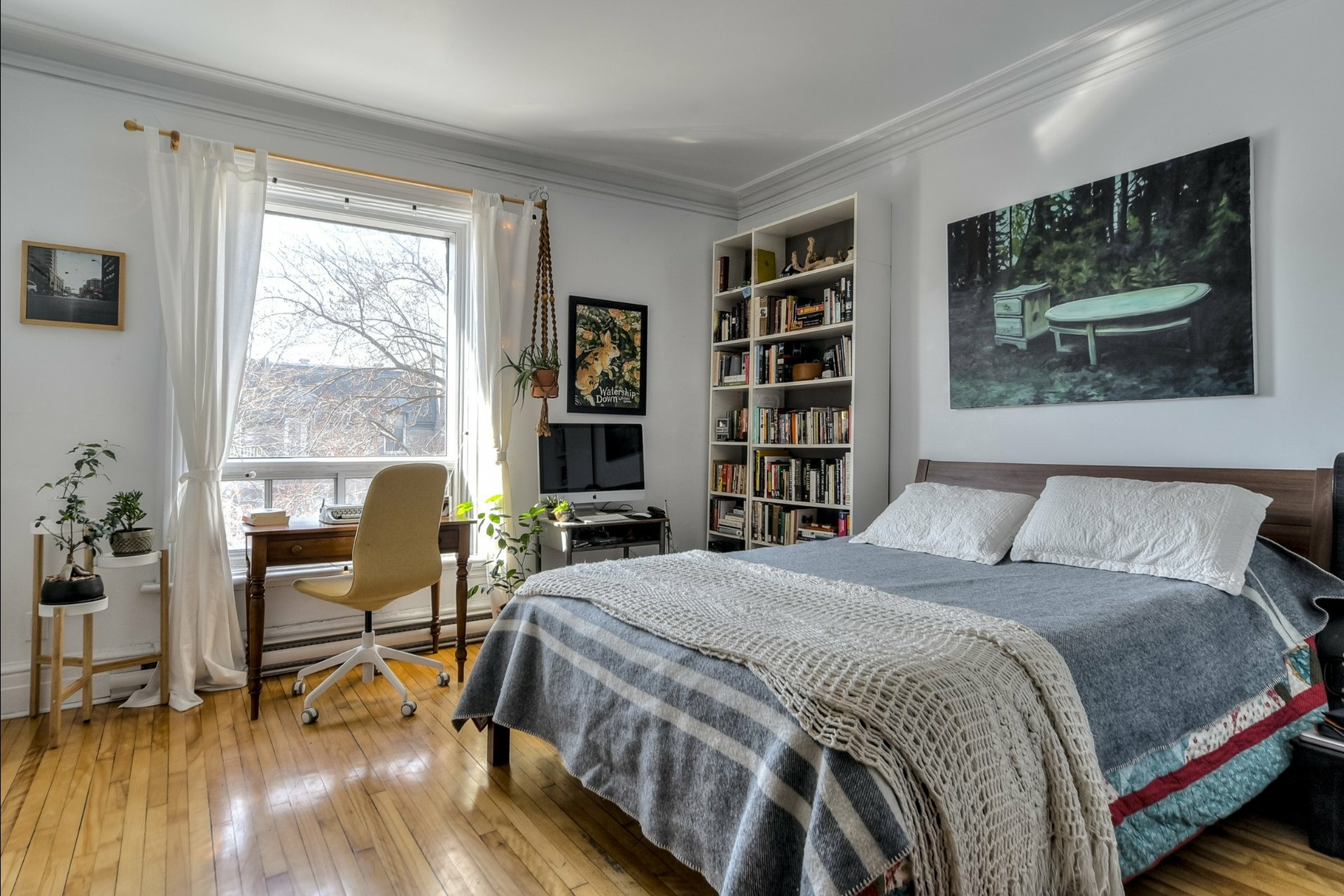 image 9 - Triplex For sale Montréal Le Plateau-Mont-Royal  - 6 rooms