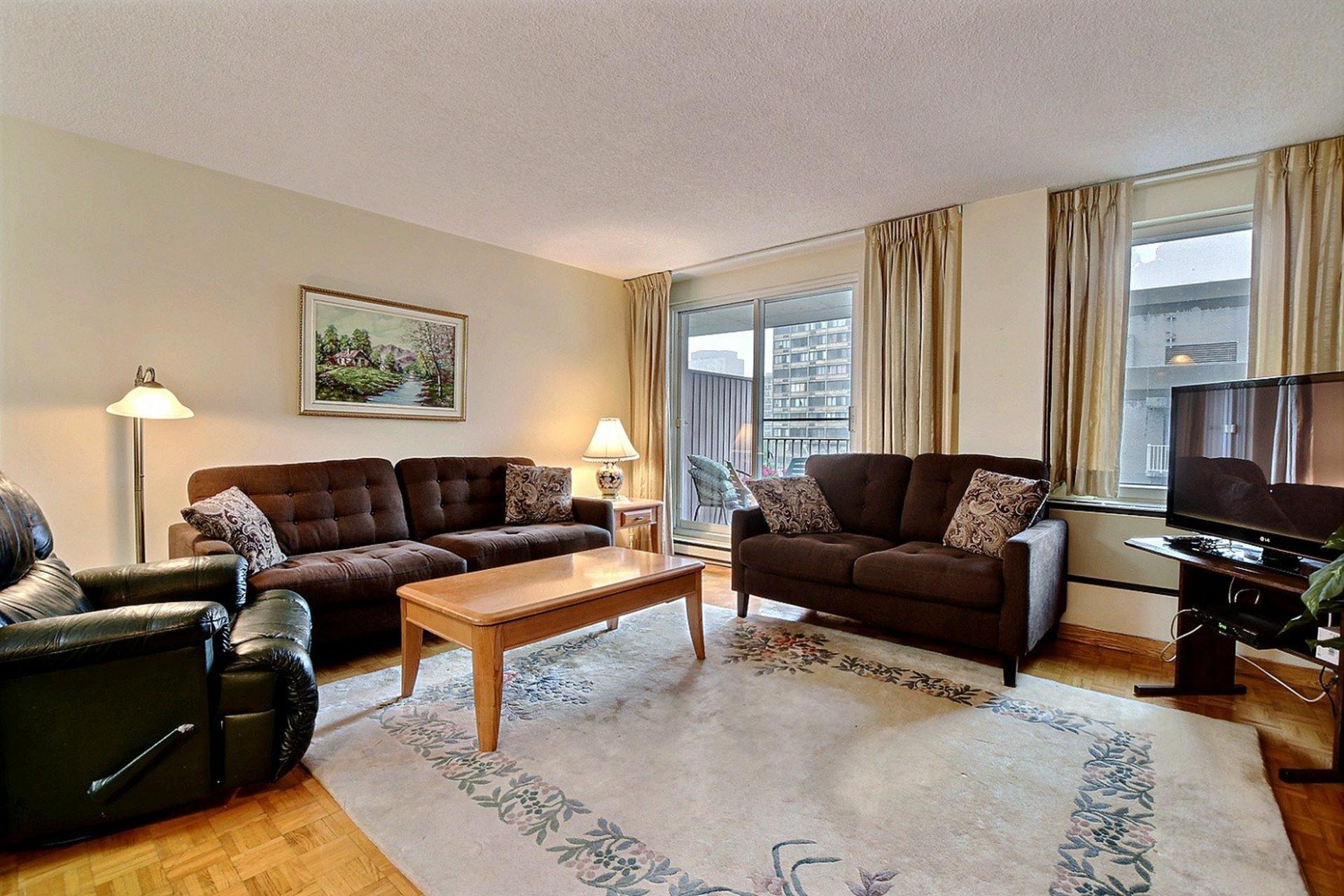 image 1 - Appartement À vendre Montréal Ville-Marie  - 3 pièces
