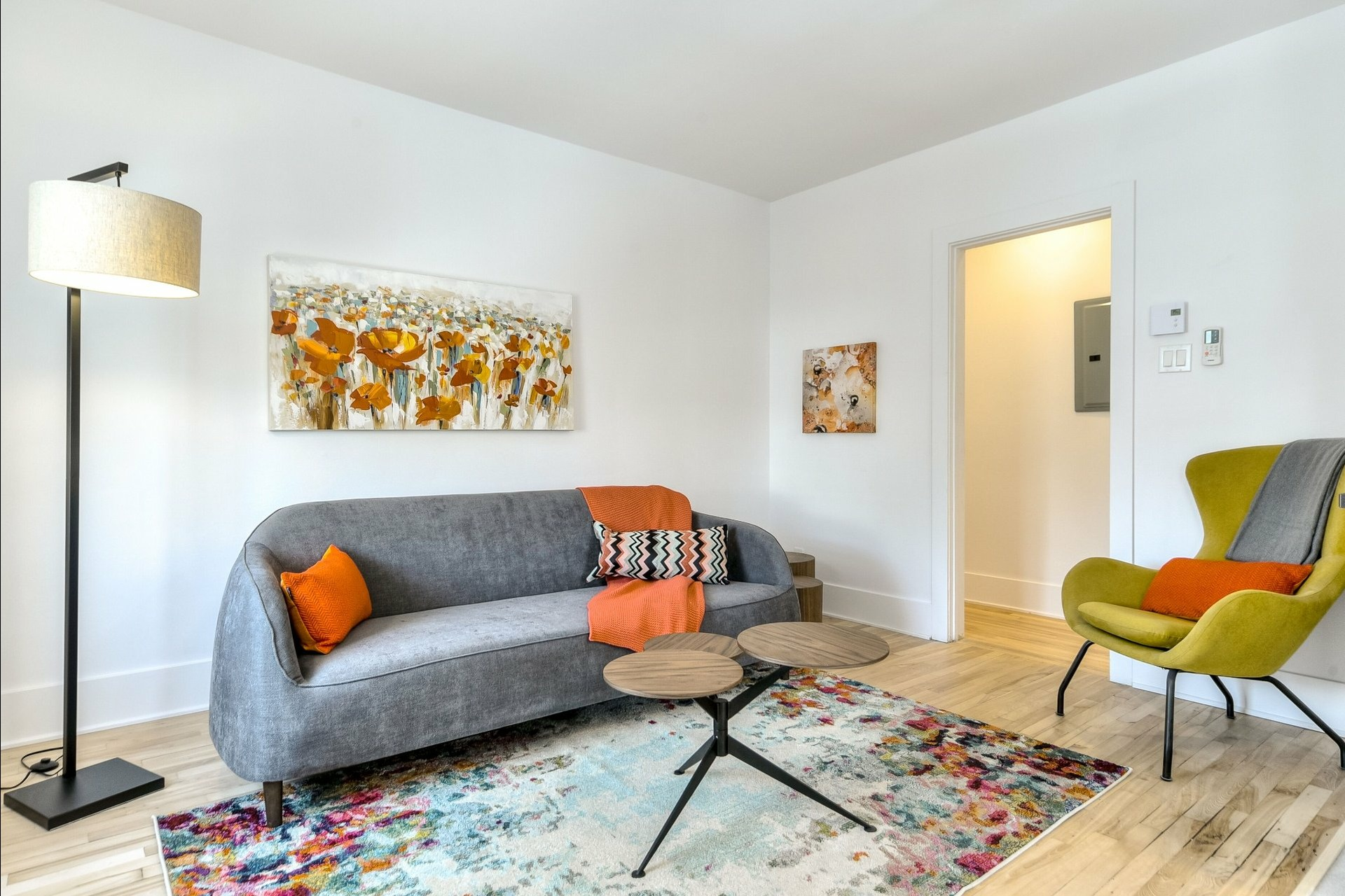 image 1 - Immeuble à revenus À vendre Montréal Villeray/Saint-Michel/Parc-Extension  - 3 pièces