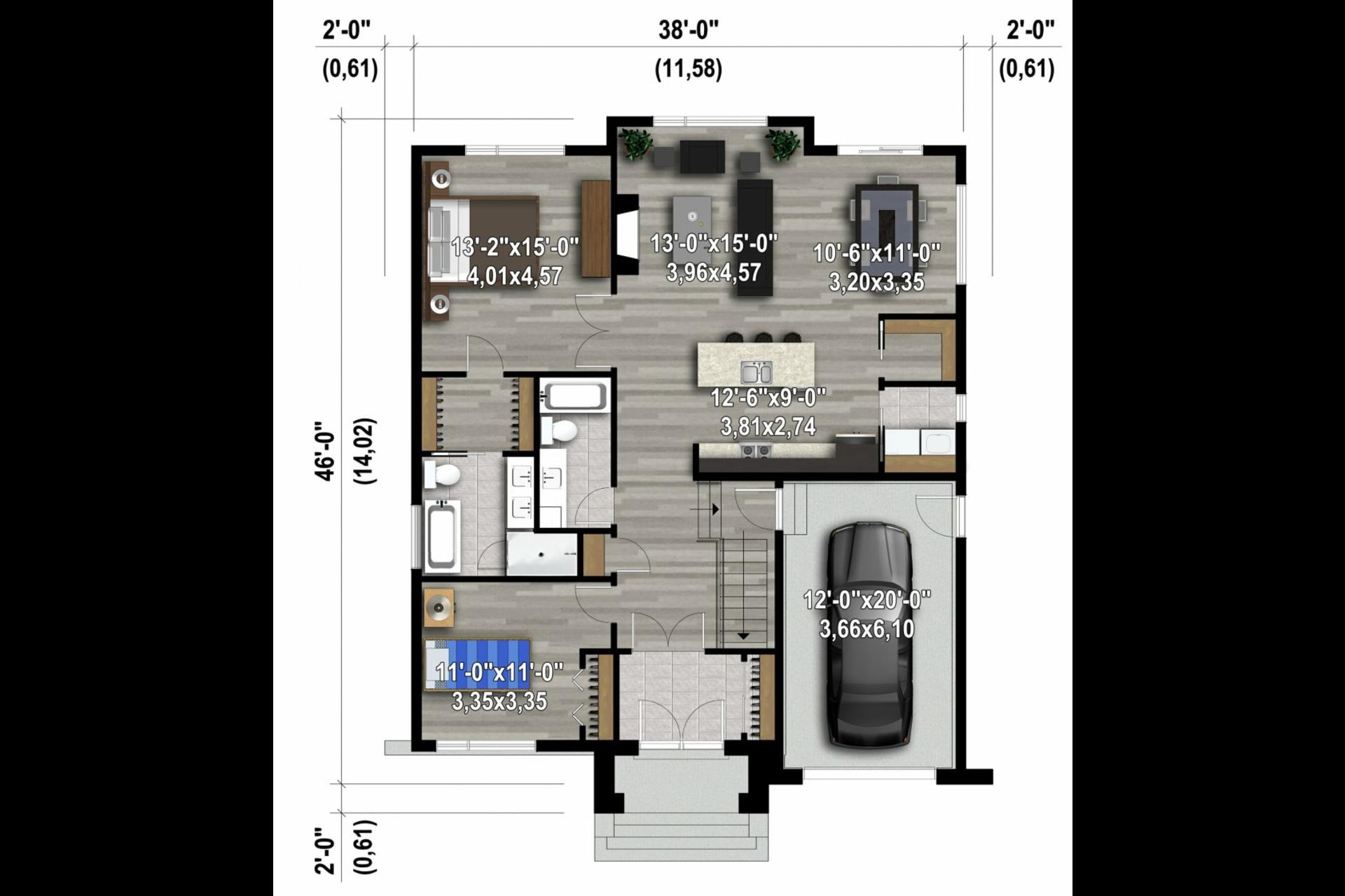 image 1 - Maison À vendre Sainte-Julienne - 6 pièces