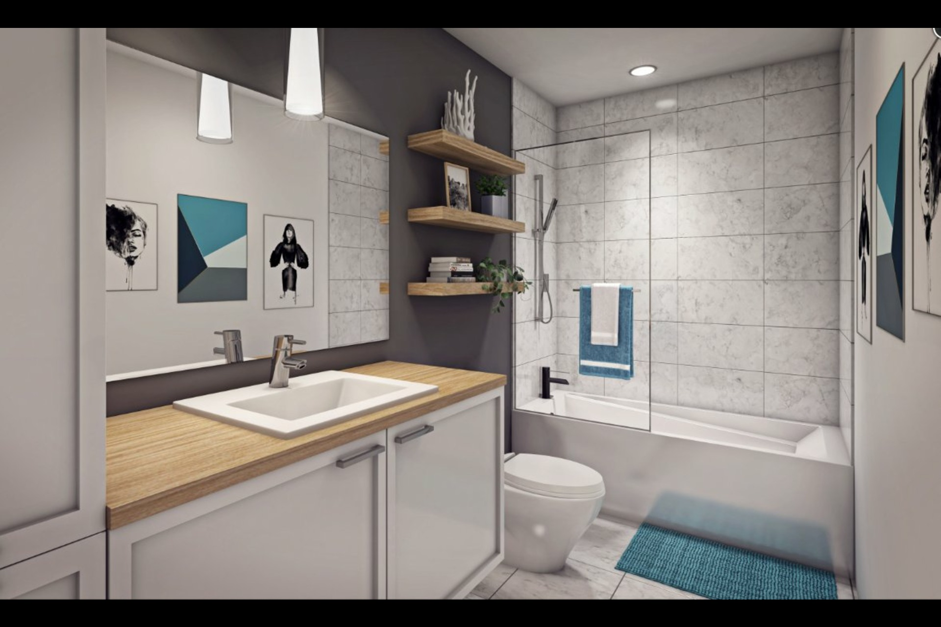 image 4 - Appartement À vendre Montréal Rosemont/La Petite-Patrie  - 7 pièces