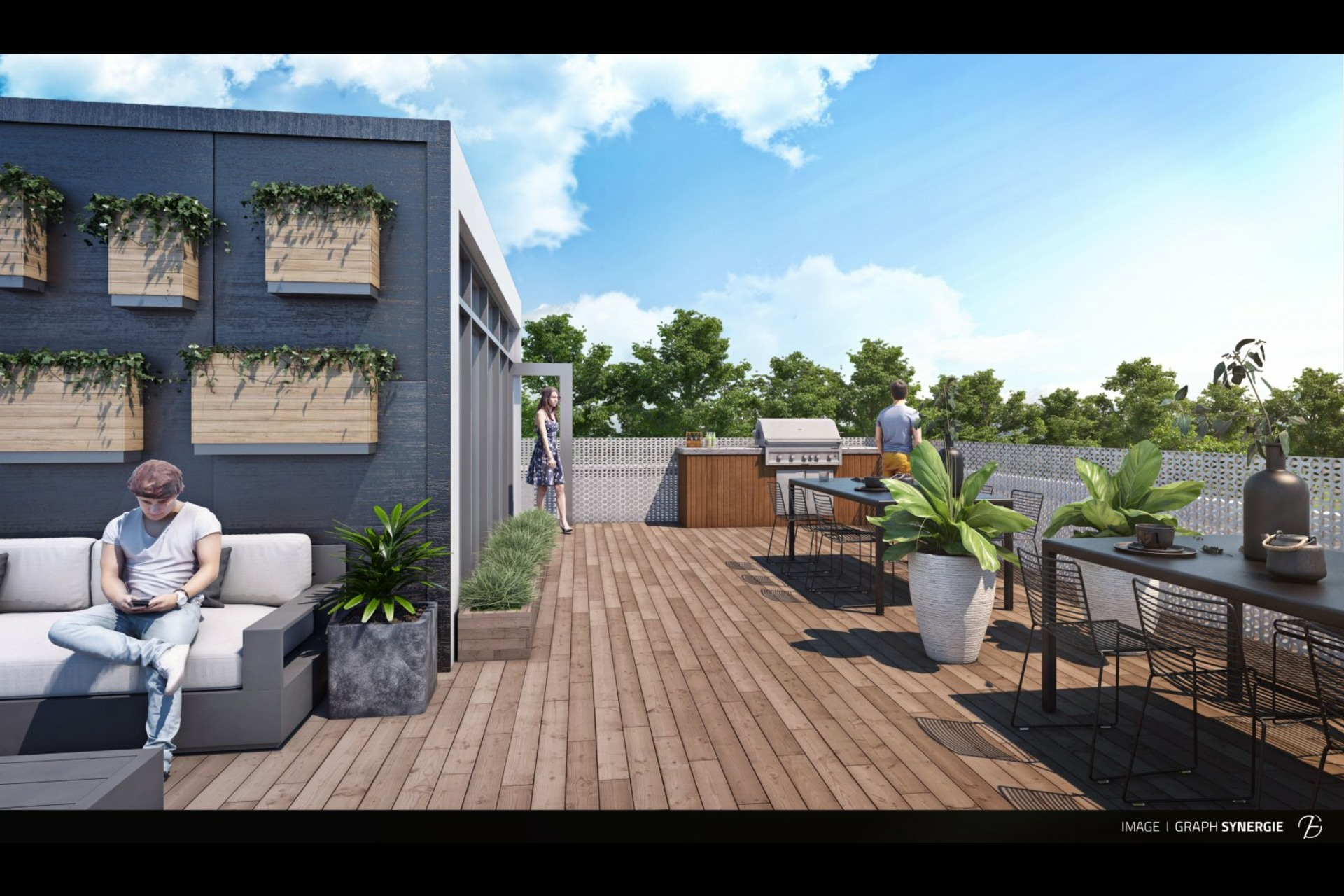 image 6 - Departamento En venta Montréal Rosemont/La Petite-Patrie  - 6 habitaciones