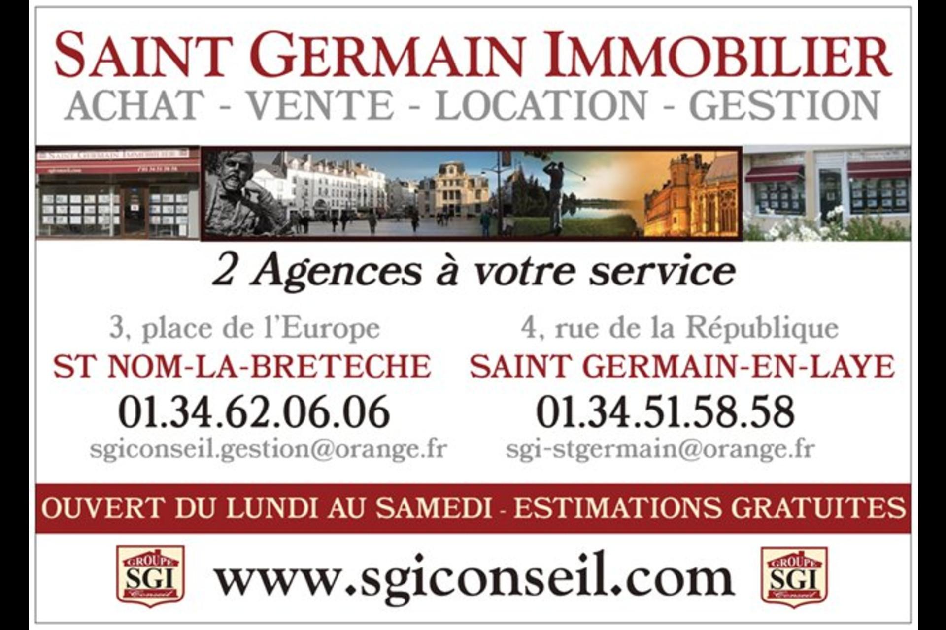 image 0 - Commercial À vendre saint germain en laye - 1 pièce