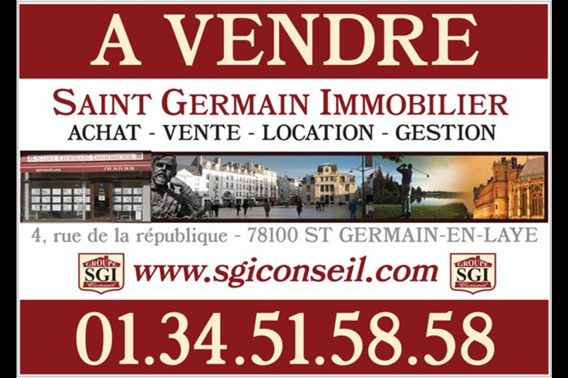 image 1 - Commercial À vendre saint germain en laye - 1 pièce