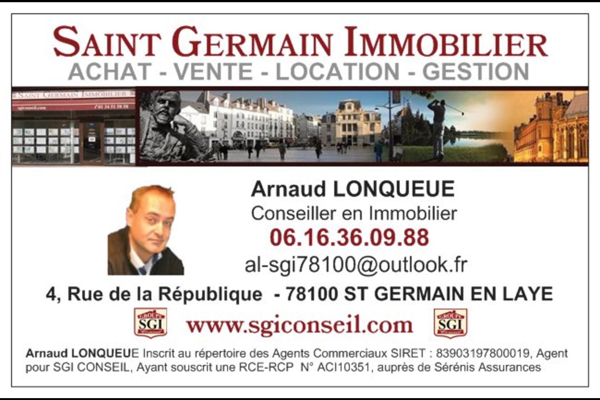 image 2 - Commercial À vendre saint germain en laye - 1 pièce