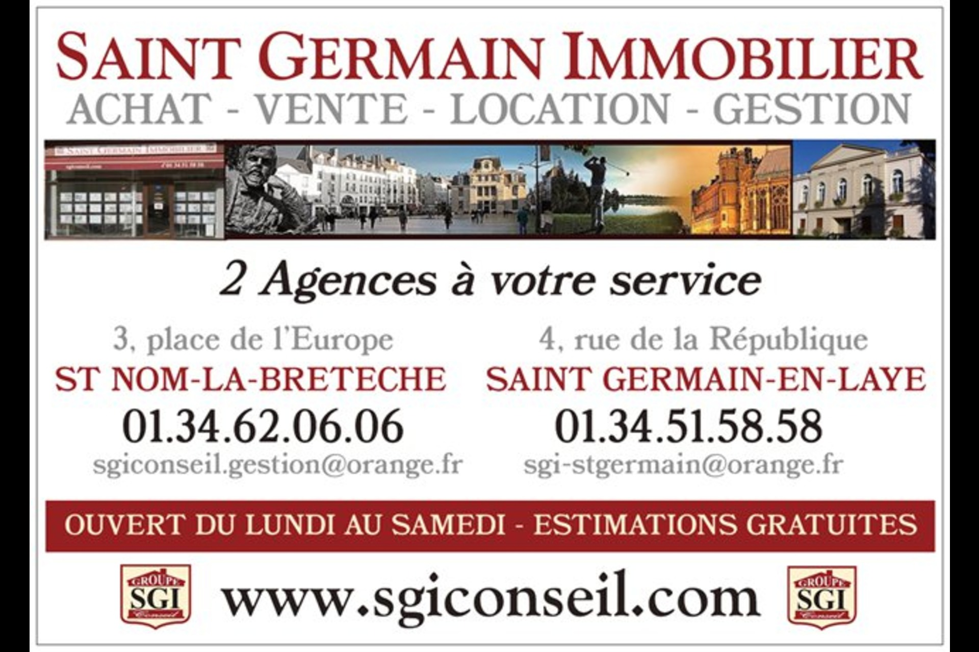 image 3 - Commercial Use For rent saint germain en laye - 3 rooms