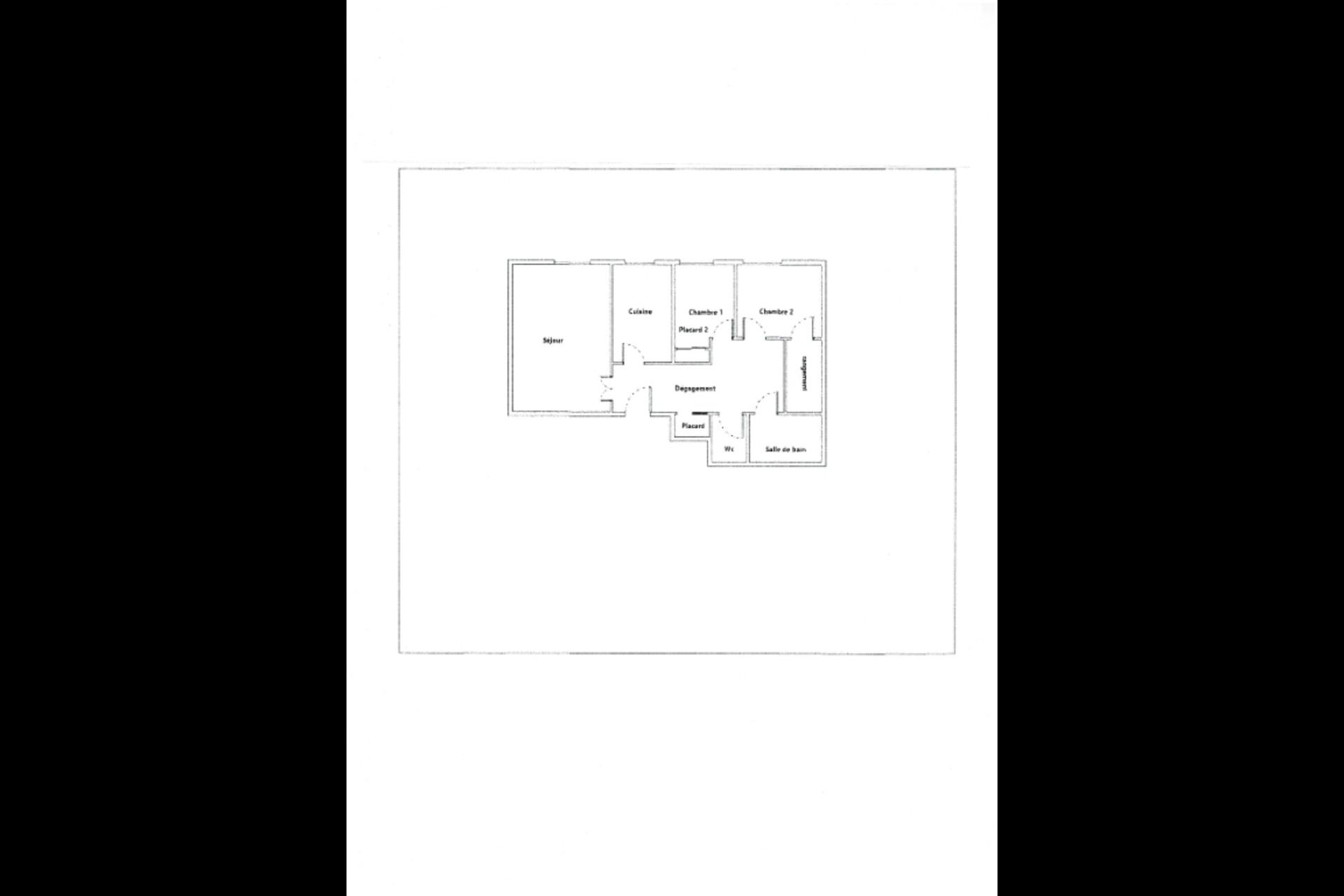 image 1 - Appartement À vendre saint germain en laye - 3 pièces