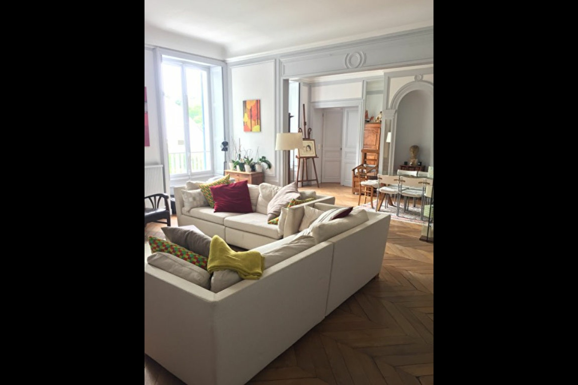 image 1 - Appartement À louer saint germain en laye - 6 pièces