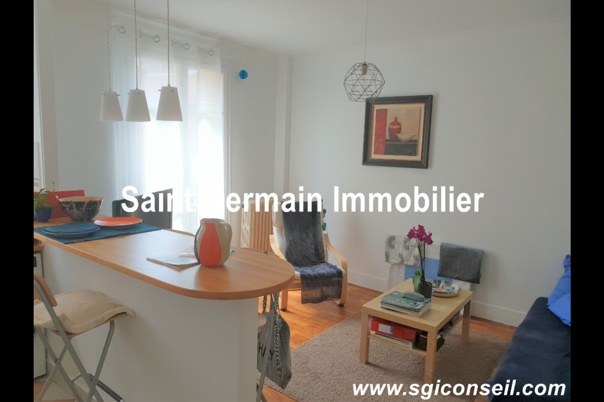 image 0 - Apartment For rent saint germain en laye - 2 rooms