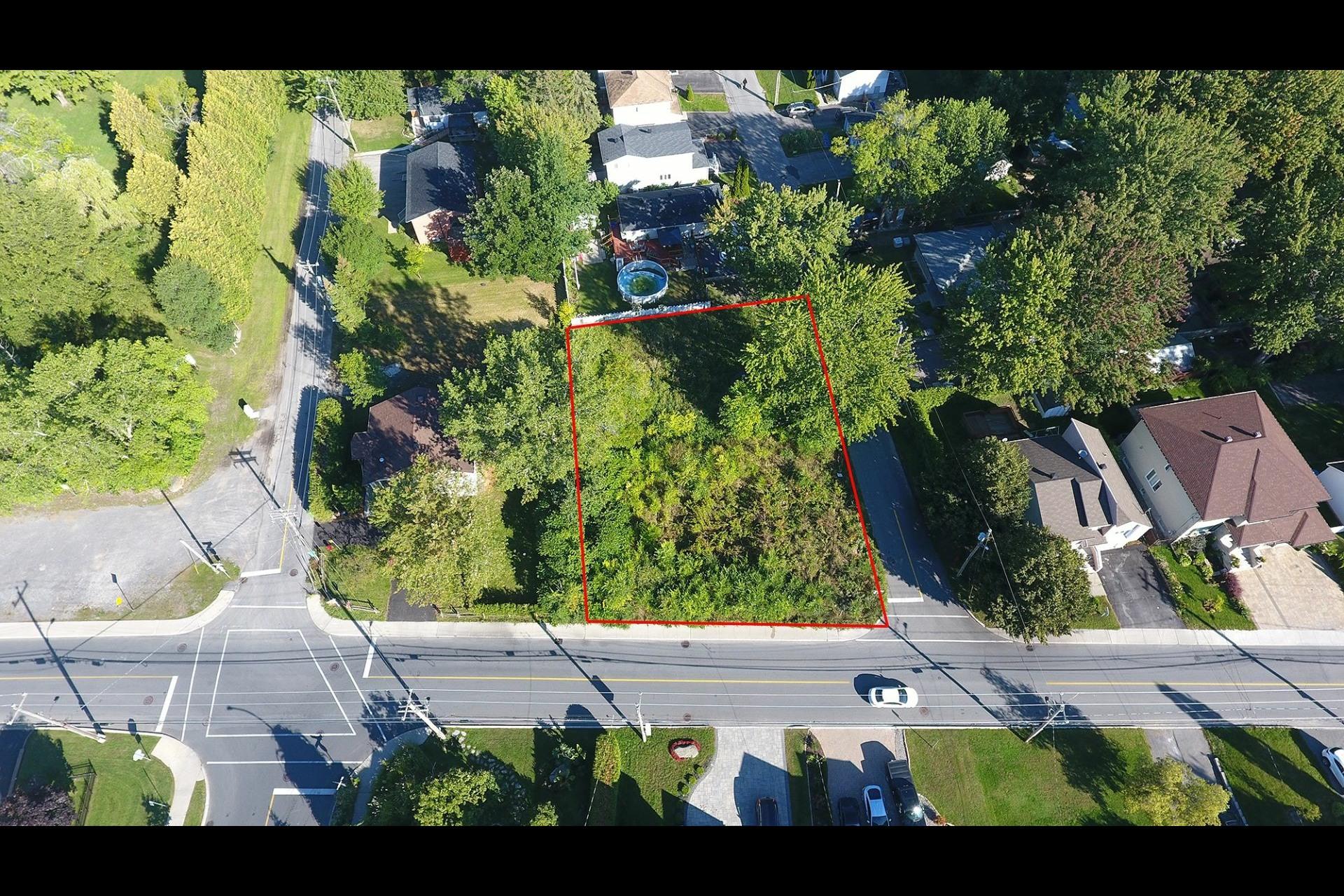 image 1 - Terrain À vendre Pierrefonds-Roxboro Montréal