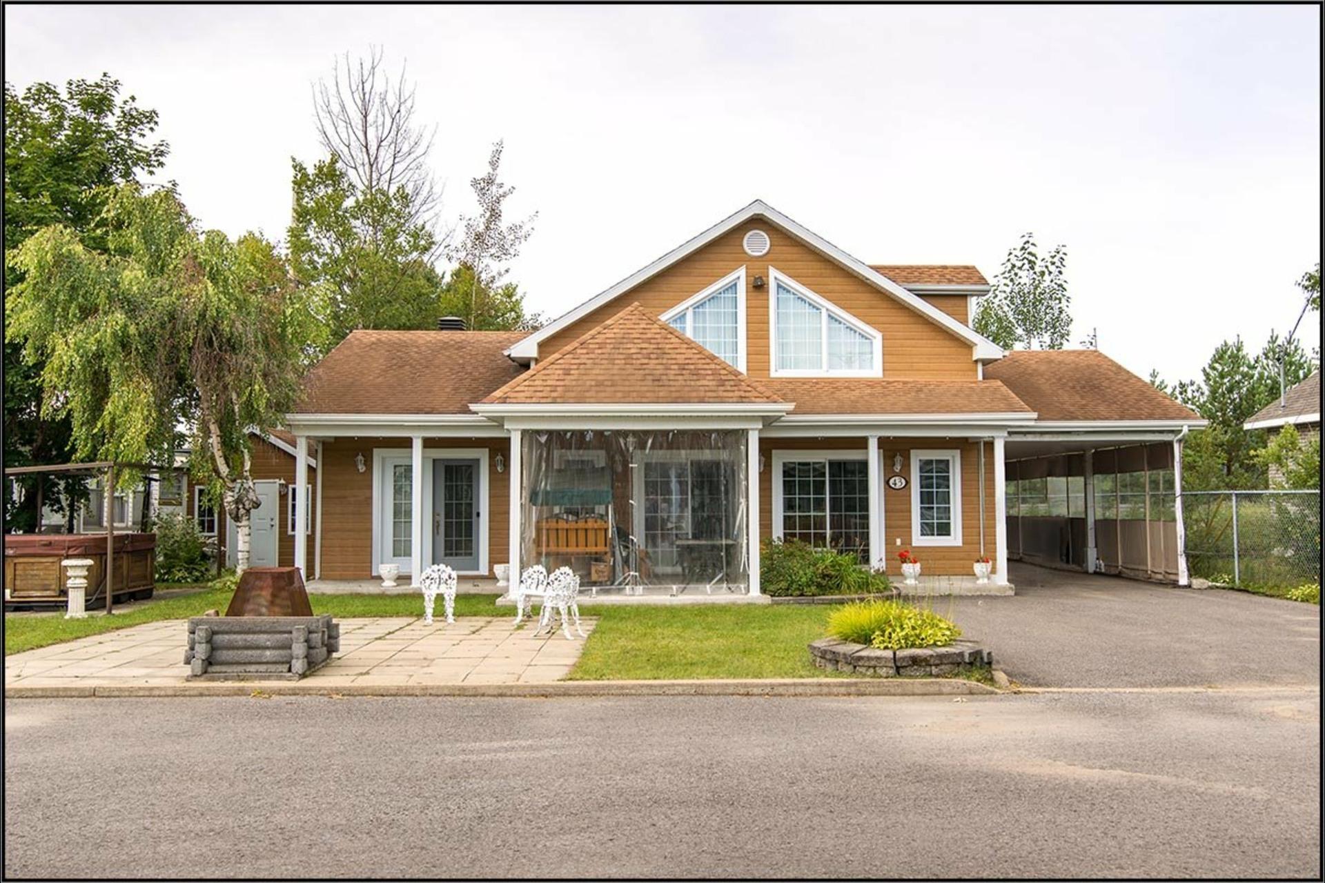 image 0 - Maison À vendre Fossambault-sur-le-Lac - 9 pièces