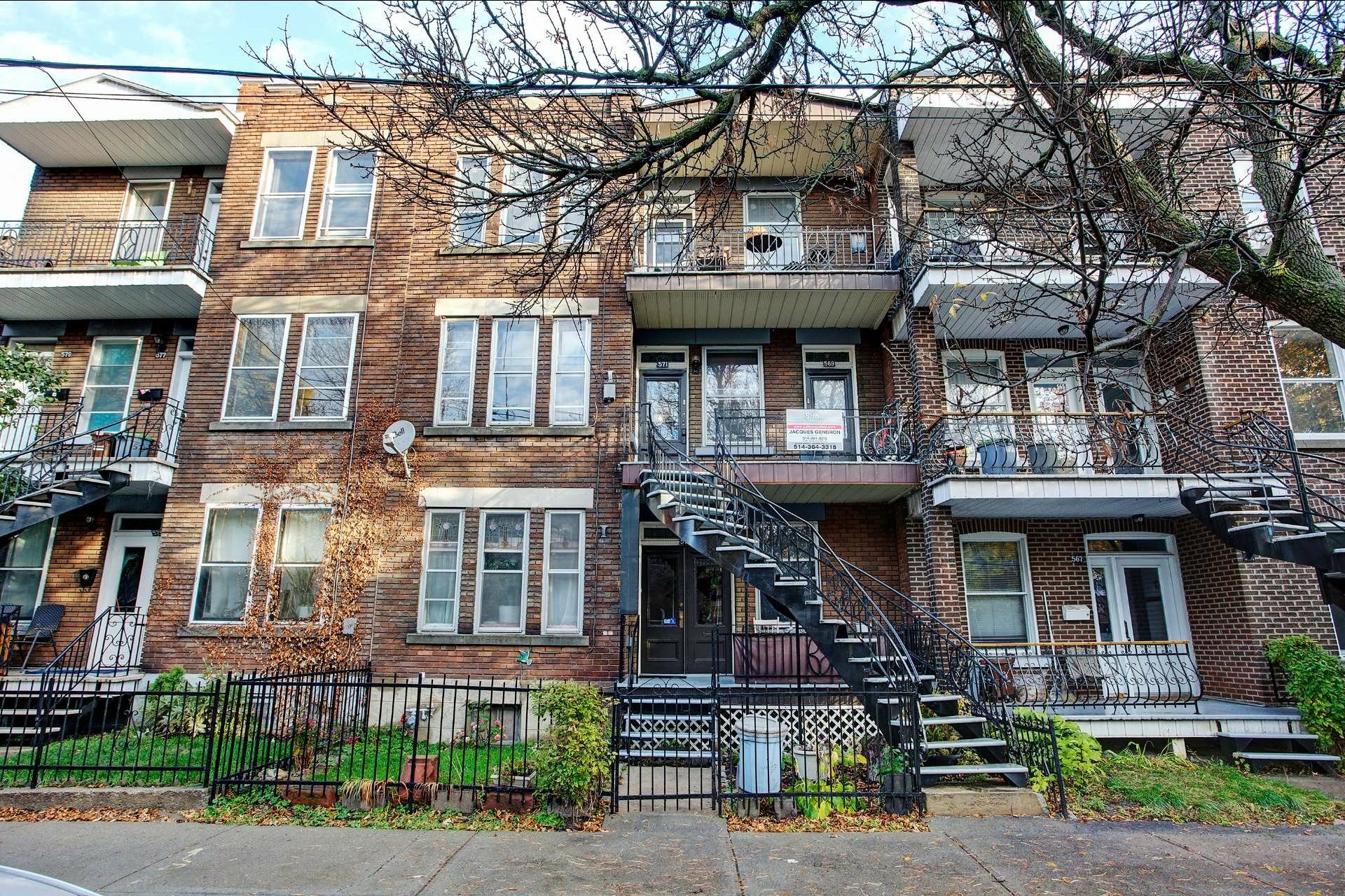 image 0 - Triplex For sale Le Sud-Ouest Montréal  - 6 rooms