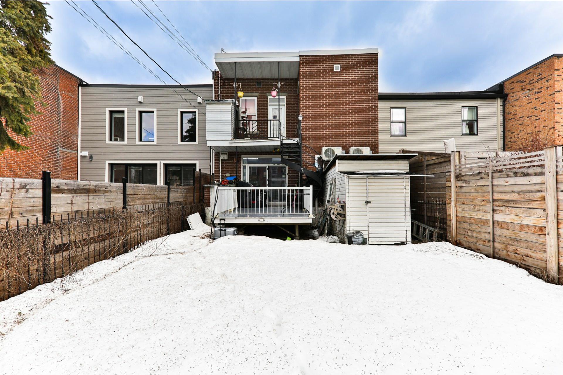 image 1 - Duplex À vendre Le Sud-Ouest Montréal  - 5 pièces