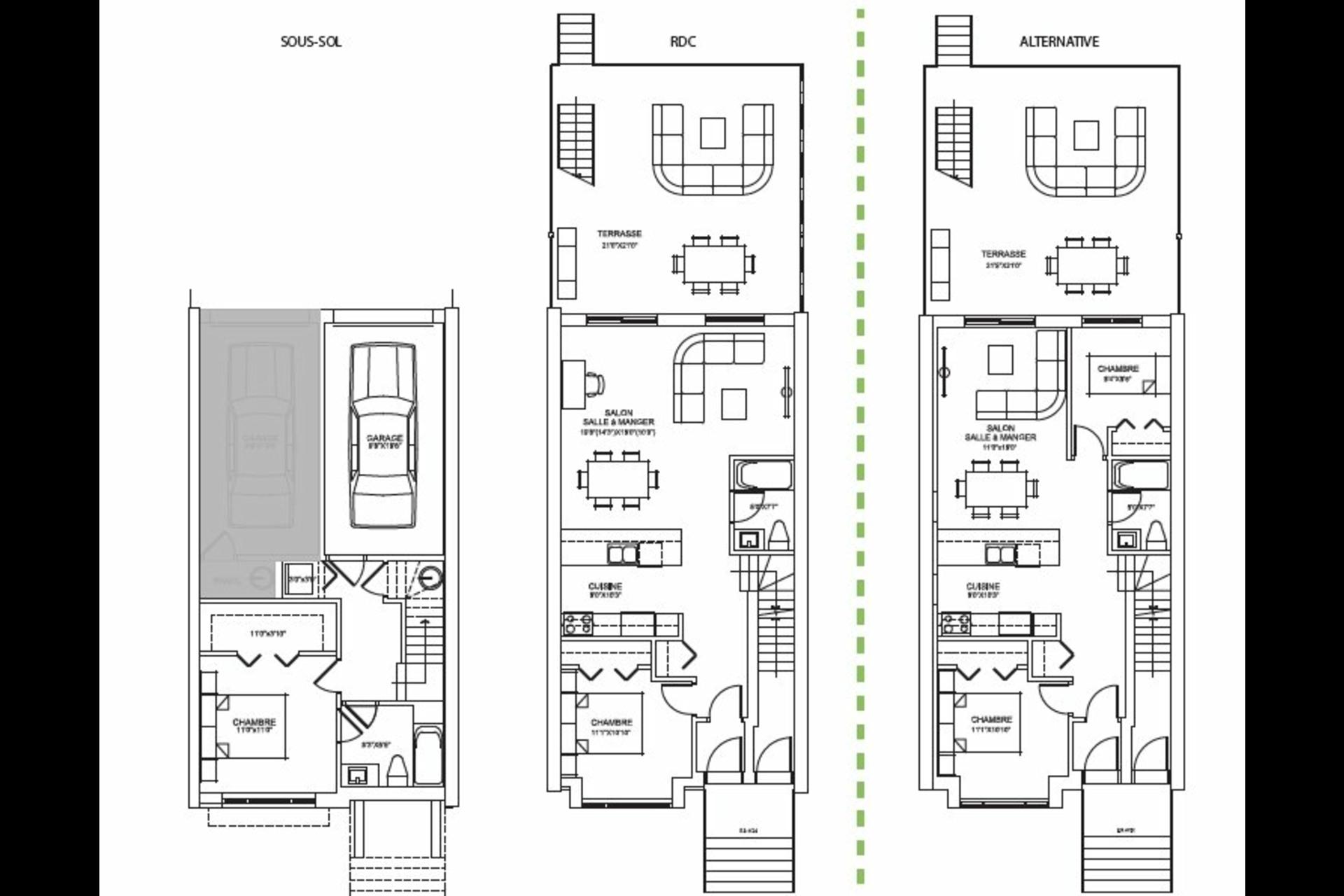 image 20 - Apartment For sale LaSalle Montréal  - 6 rooms