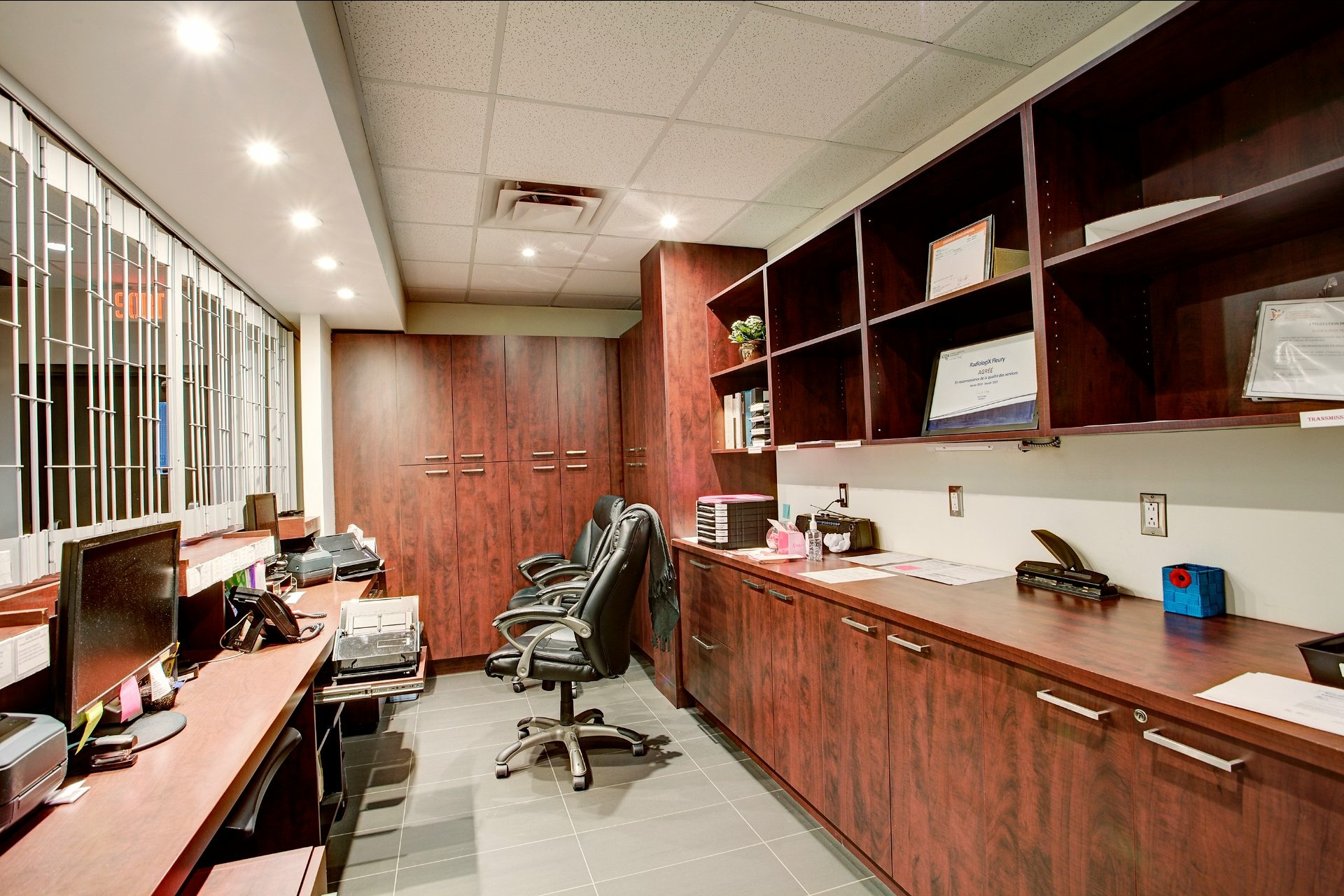 image 4 - 办公室 出售 Ahuntsic-Cartierville Montréal