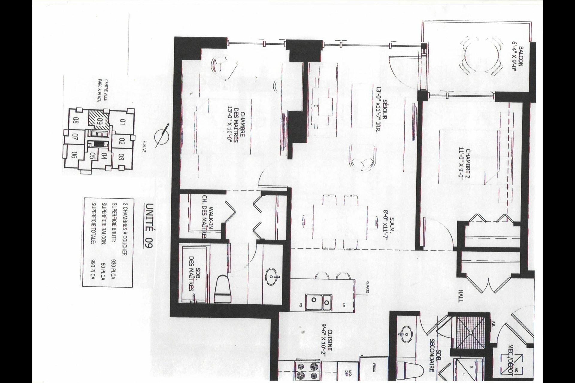 image 22 - Appartement À vendre Verdun/Île-des-Soeurs Montréal  - 5 pièces