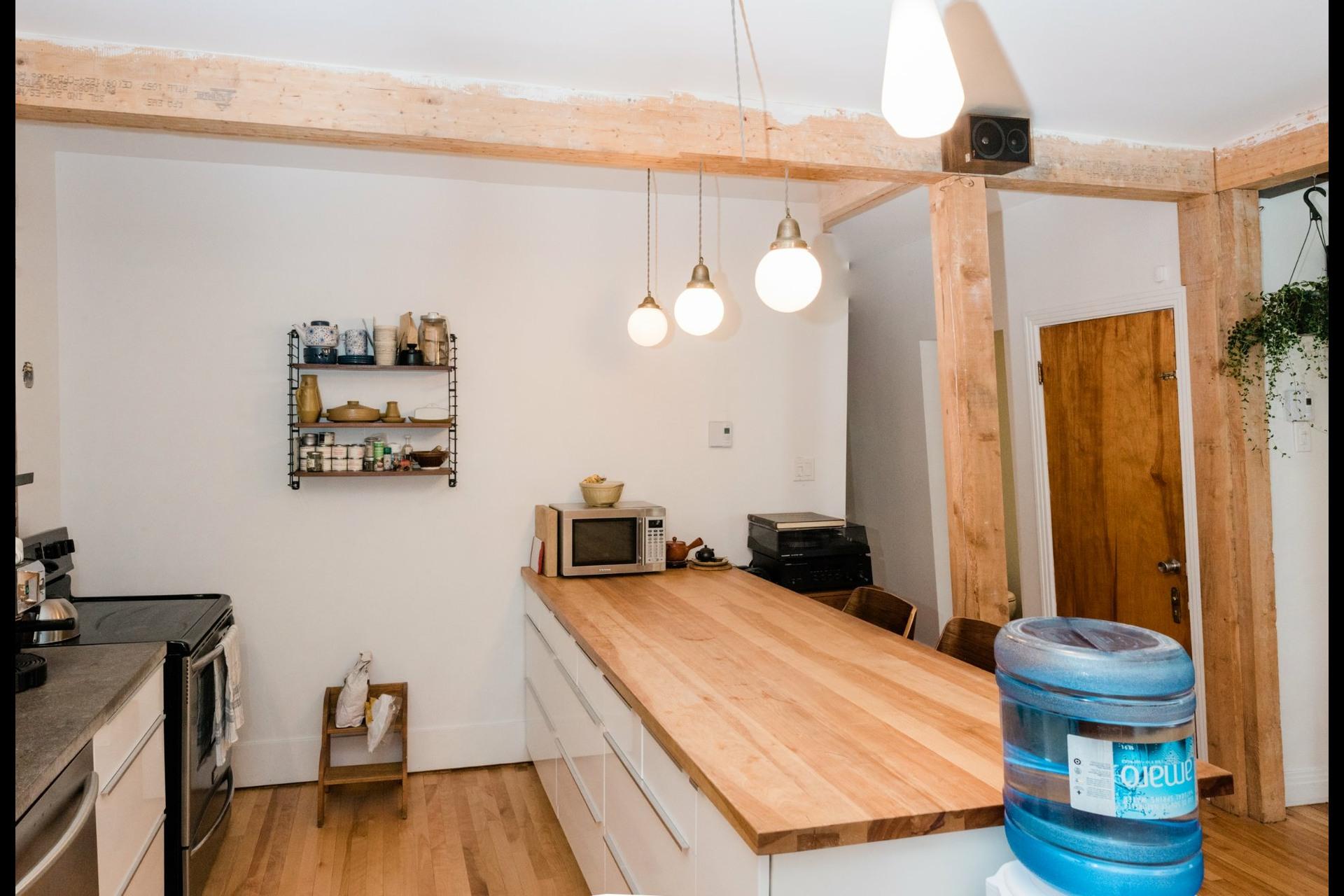 image 2 - Duplex À vendre Villeray/Saint-Michel/Parc-Extension Montréal  - 4 pièces