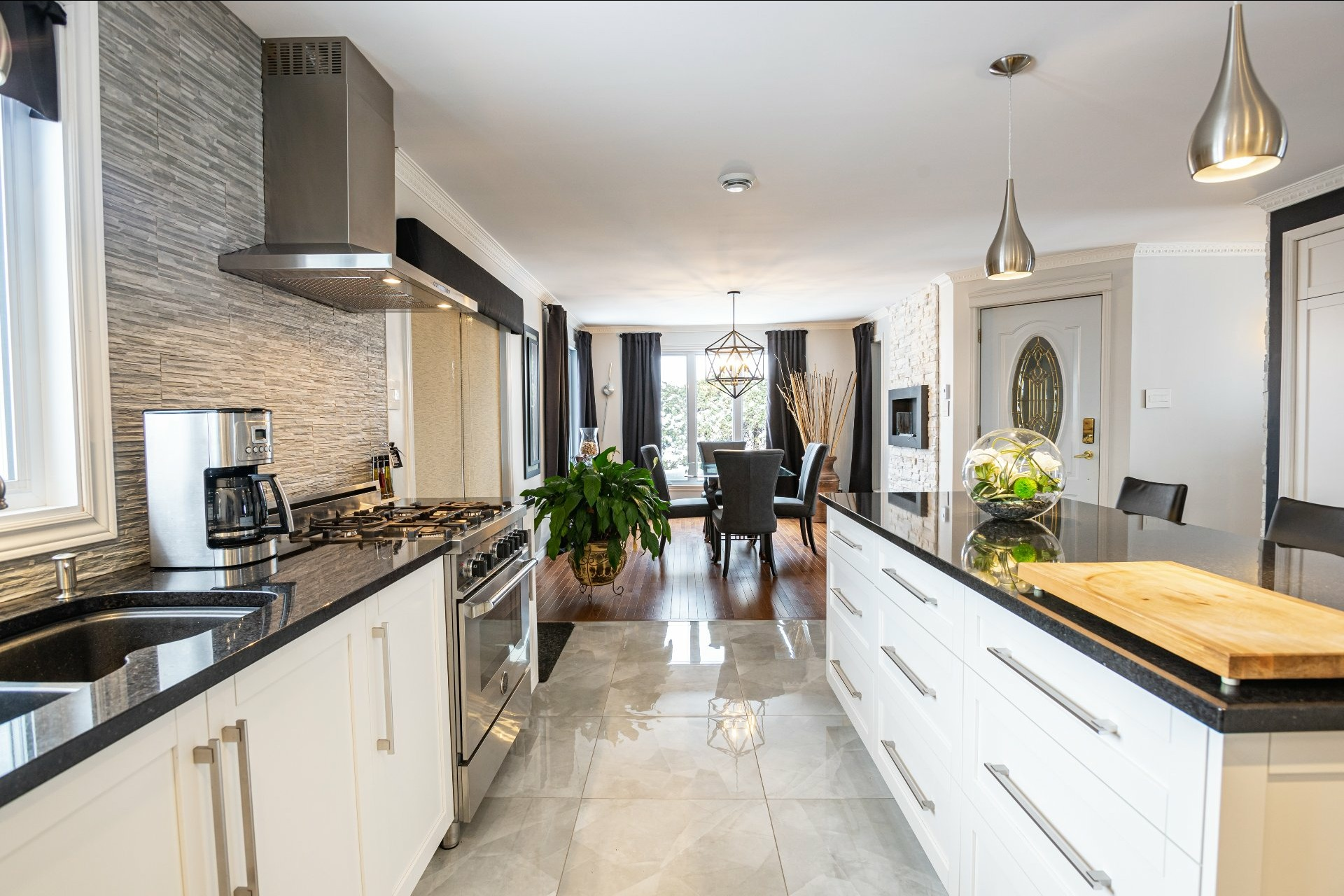 image 2 - House For sale Charlesbourg Québec  - 11 rooms