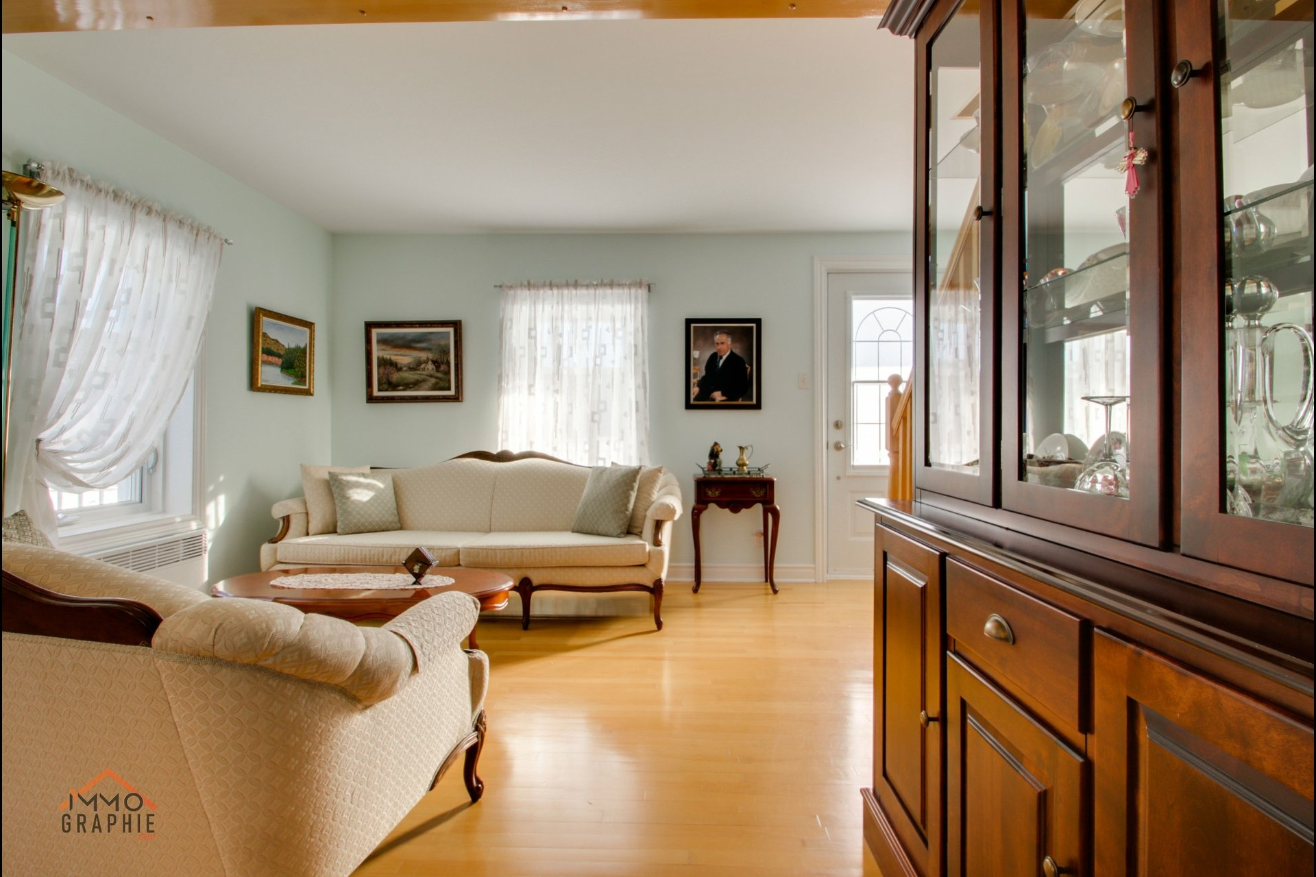 image 10 - Maison À vendre Sainte-Sophie-de-Lévrard - 13 pièces