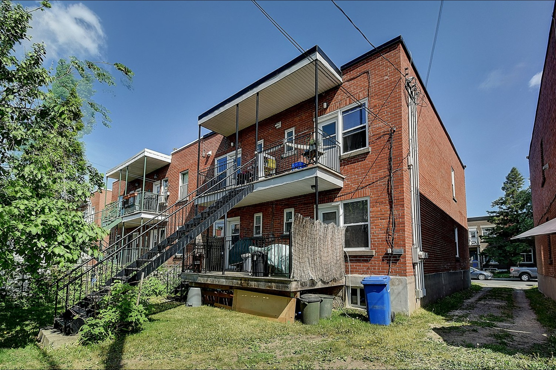 image 17 - Quadruplex For sale Verdun/Île-des-Soeurs Montréal  - 6 rooms