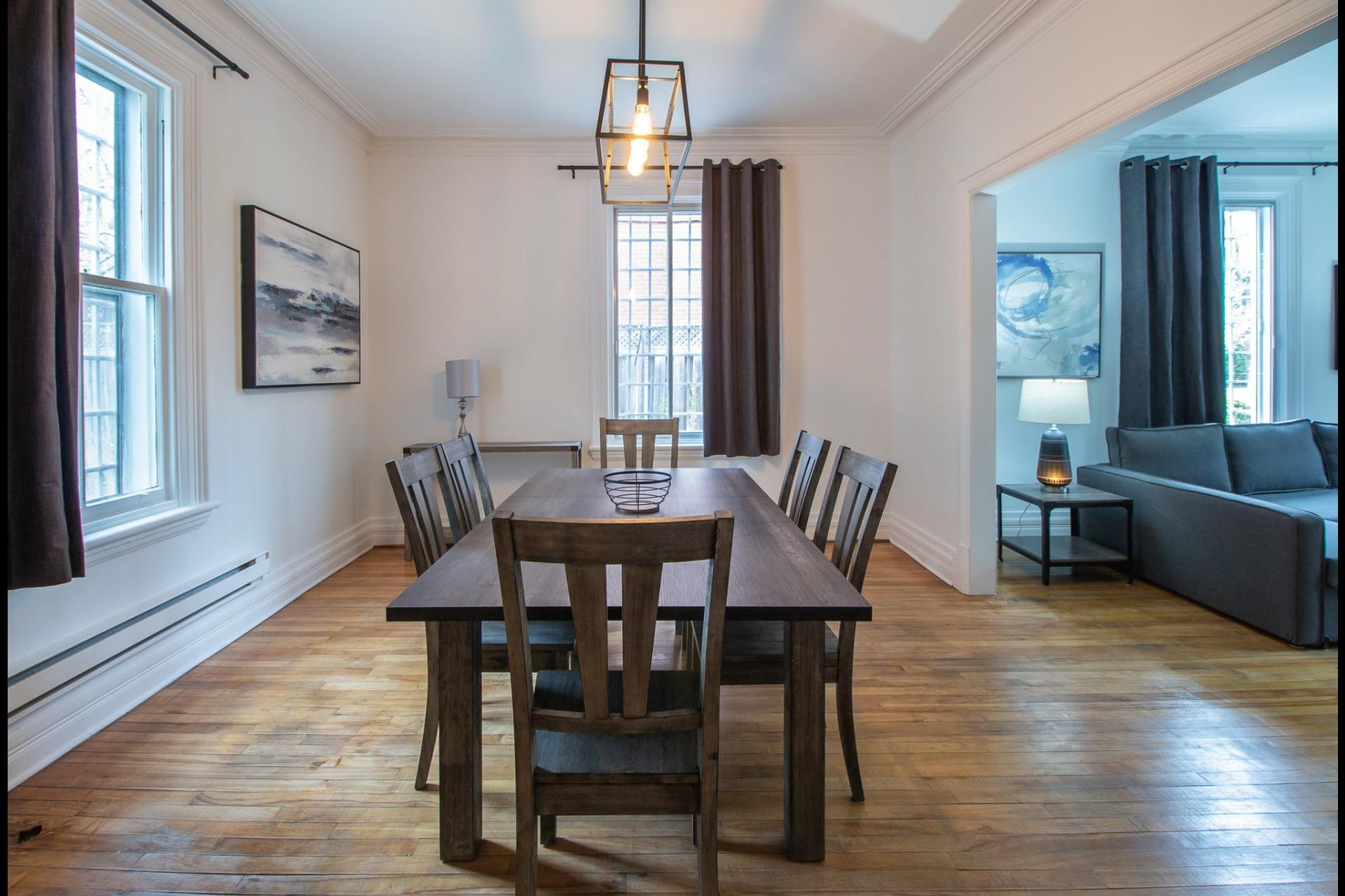 image 3 - House For rent Côte-des-Neiges/Notre-Dame-de-Grâce Montréal  - 8 rooms