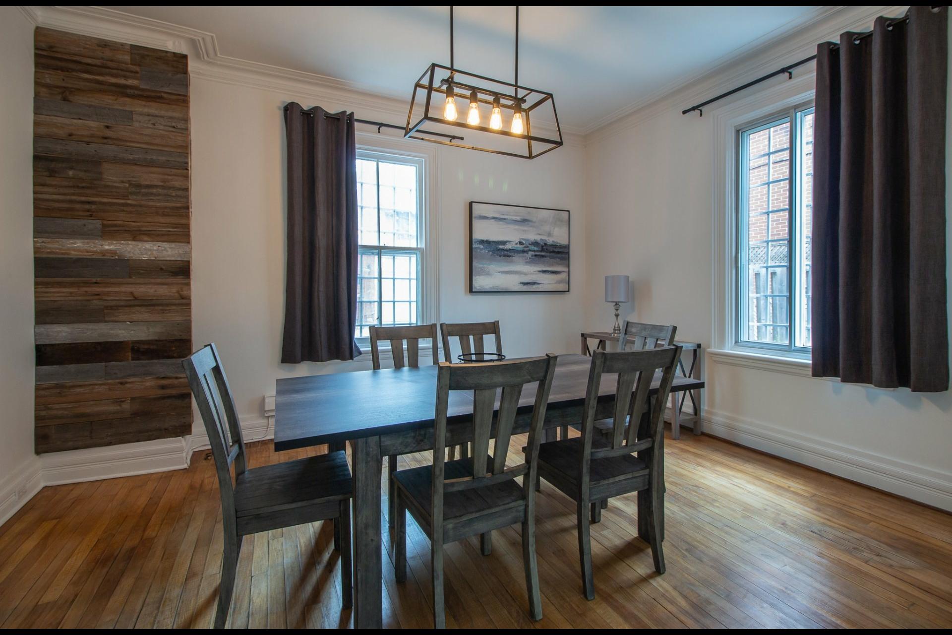 image 2 - House For rent Côte-des-Neiges/Notre-Dame-de-Grâce Montréal  - 8 rooms