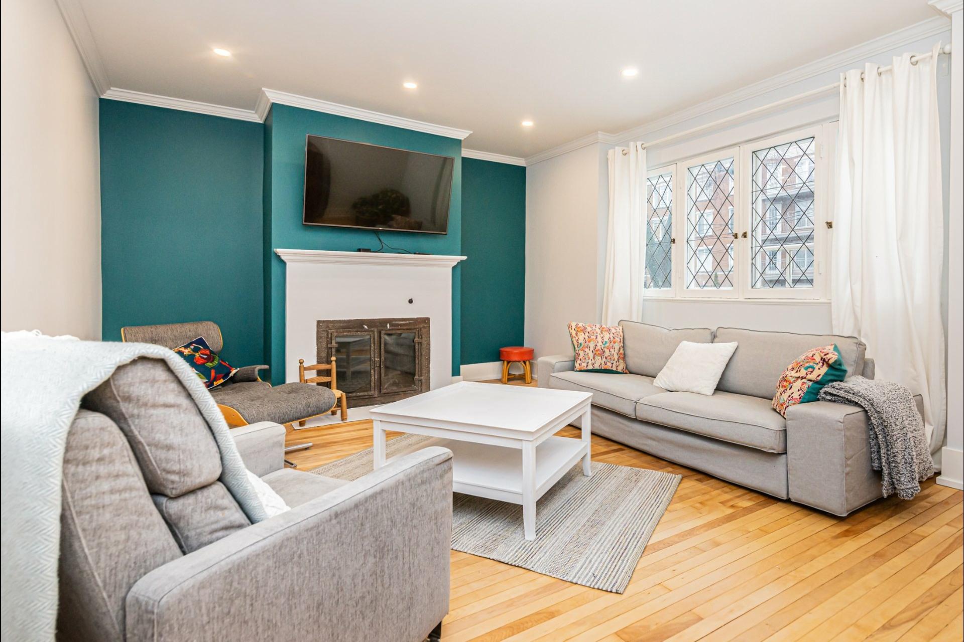 image 3 - Apartment For sale Côte-des-Neiges/Notre-Dame-de-Grâce Montréal  - 10 rooms