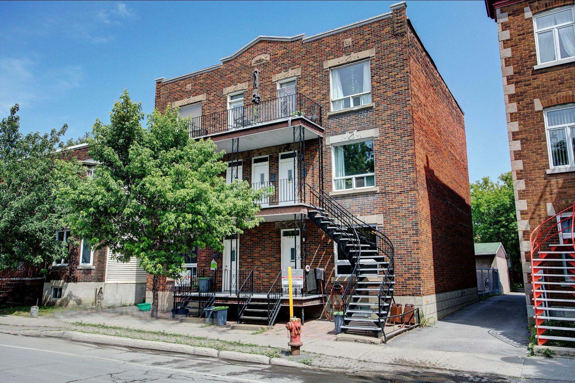 image 1 - Immeuble à revenus À vendre Le Sud-Ouest Montréal  - 4 pièces