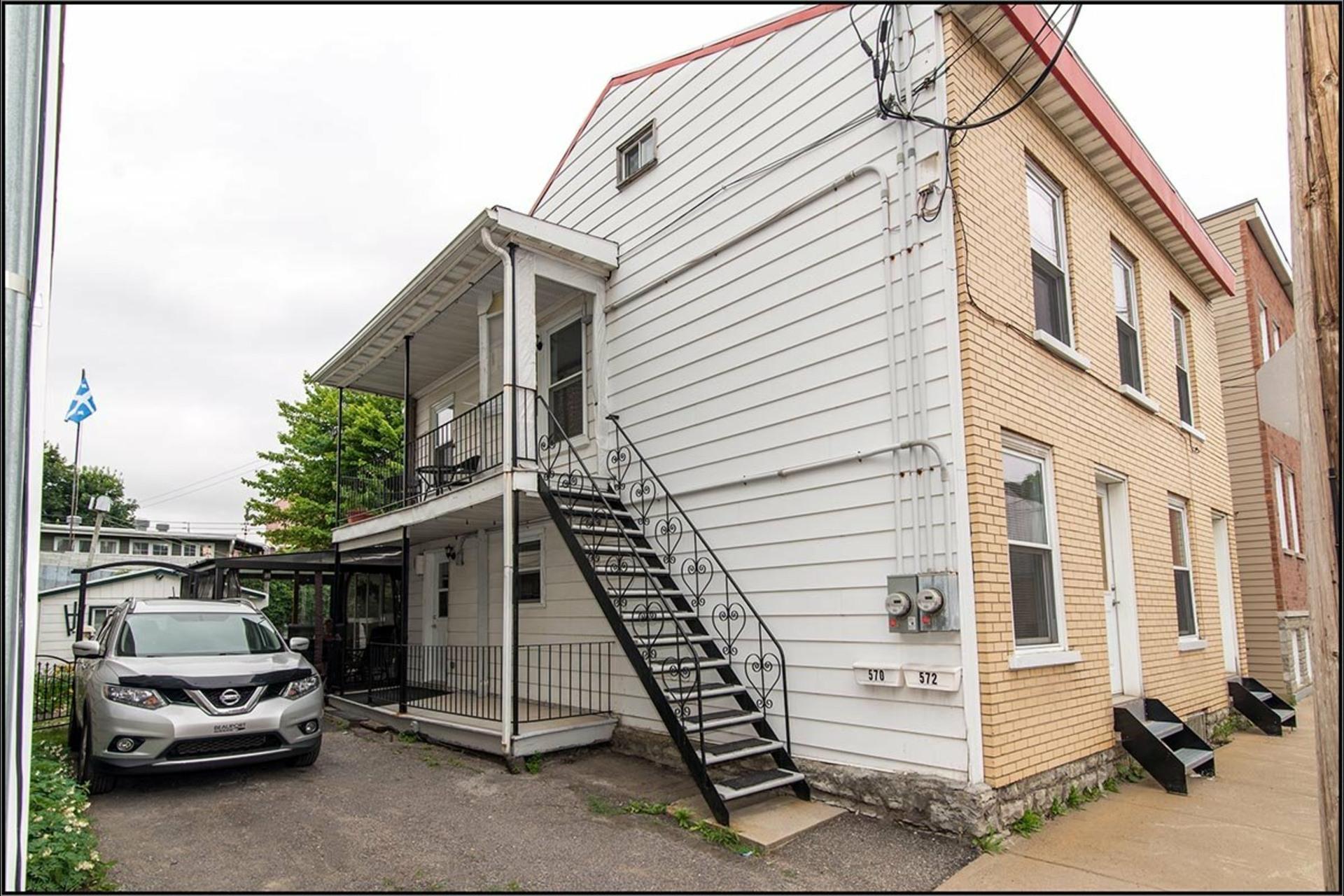image 0 - Duplex À vendre La Cité-Limoilou Québec  - 4 pièces
