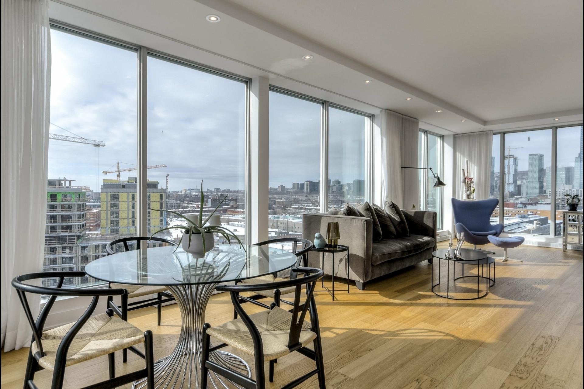 image 2 - Apartment For rent Le Sud-Ouest Montréal  - 9 rooms