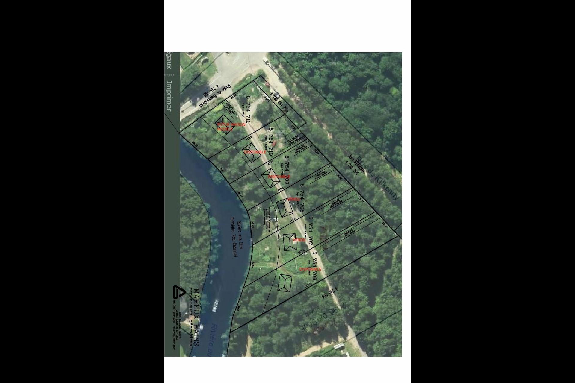 image 1 - Terrain À vendre Fossambault-sur-le-Lac