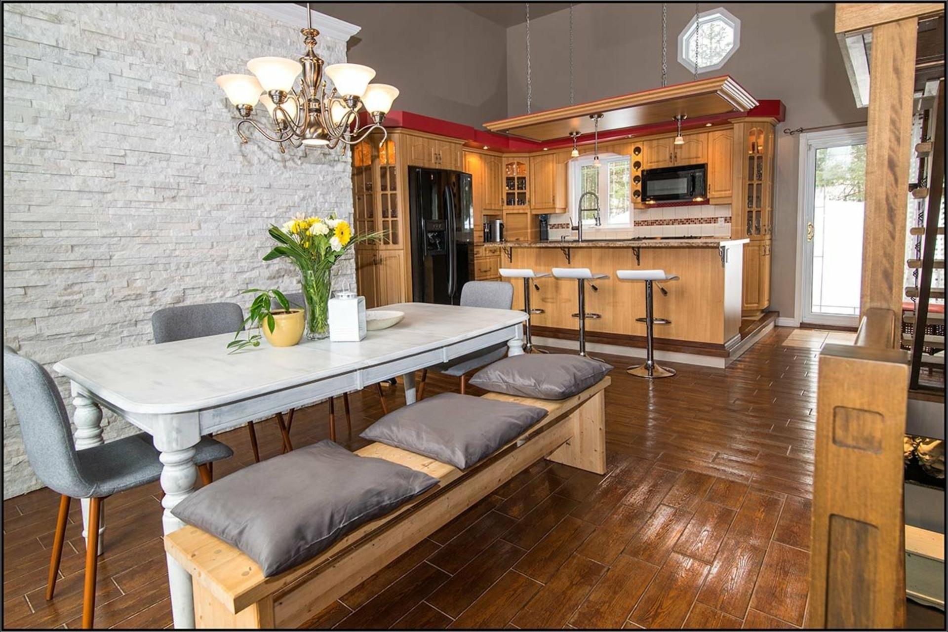 image 3 - Maison À vendre Sainte-Catherine-de-la-Jacques-Cartier - 11 pièces