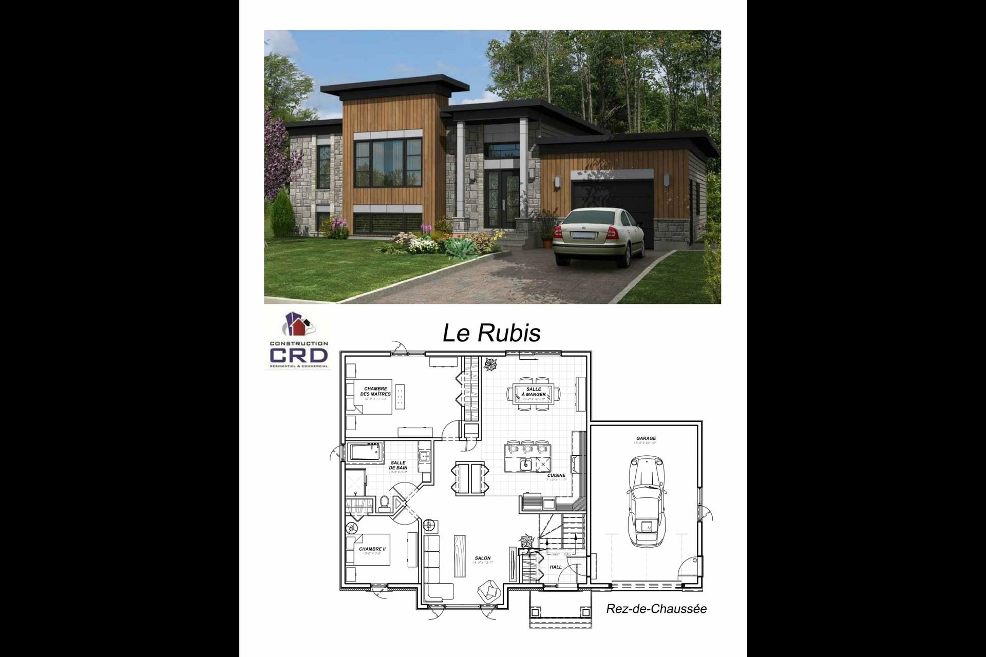 image 1 - Maison À vendre Sainte-Catherine-de-la-Jacques-Cartier - 7 pièces