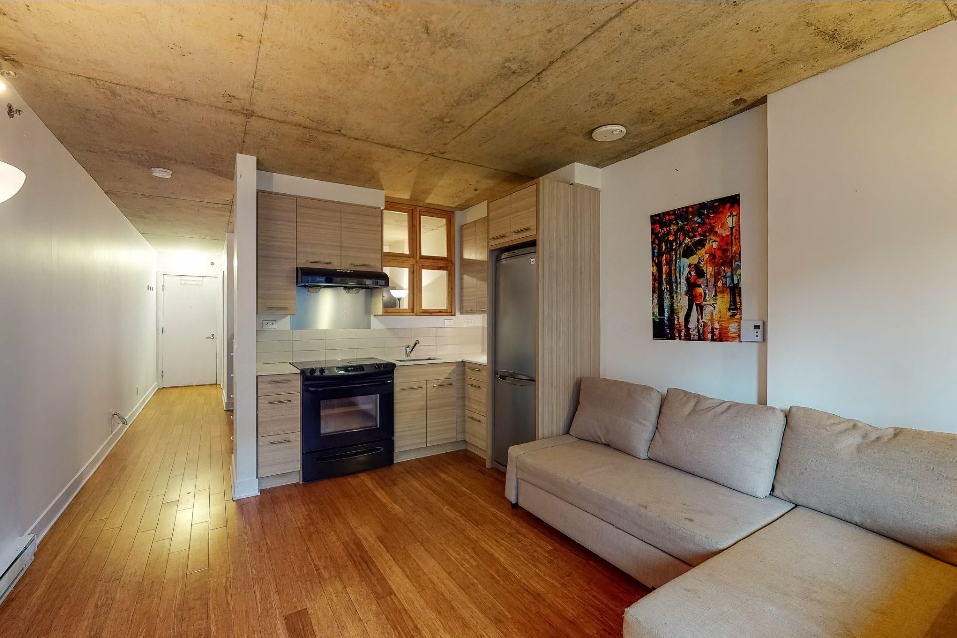 image 2 - Apartment For sale Ville-Marie Montréal  - 2 rooms