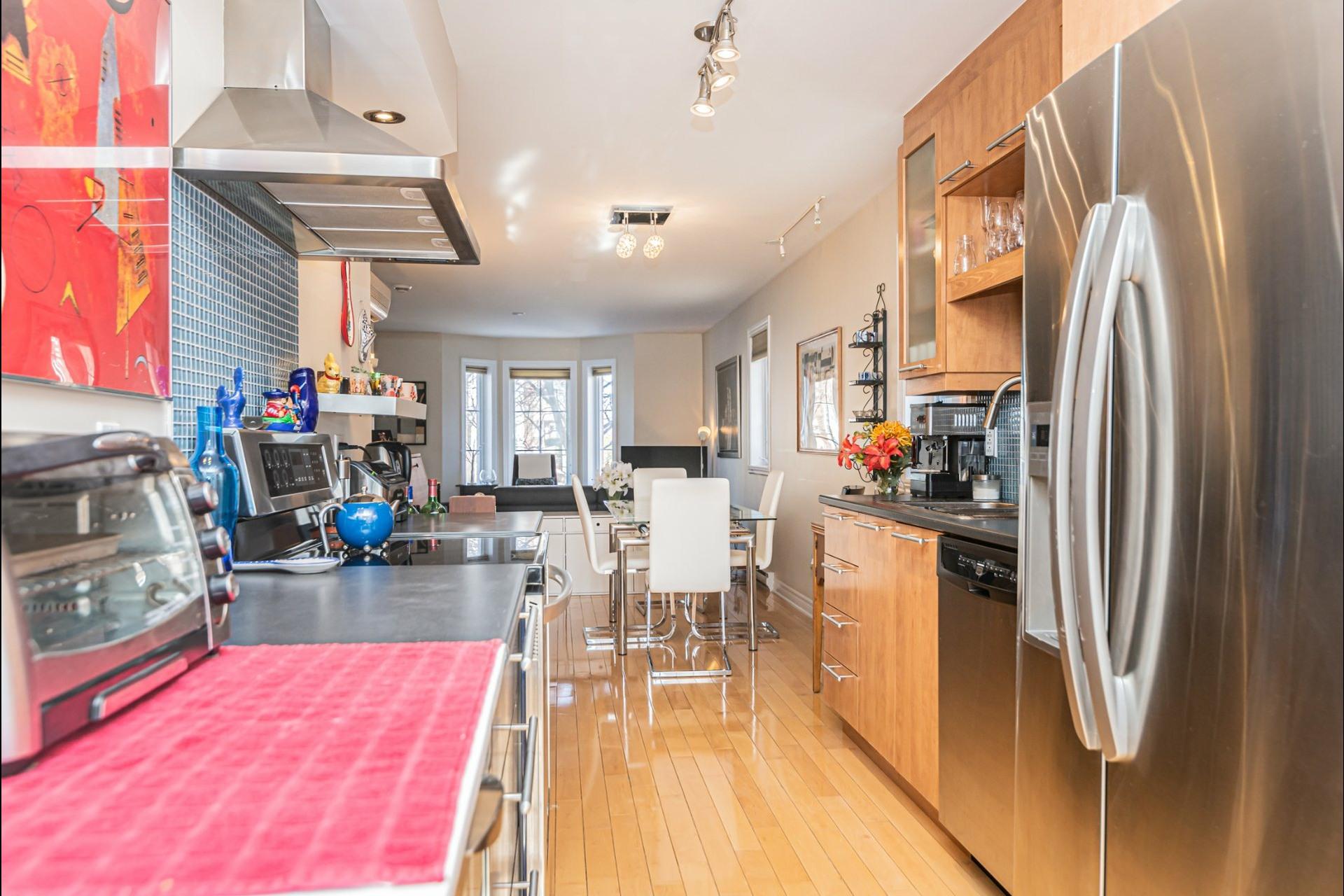 image 8 - Apartment For sale Saint-Laurent Montréal  - 4 rooms
