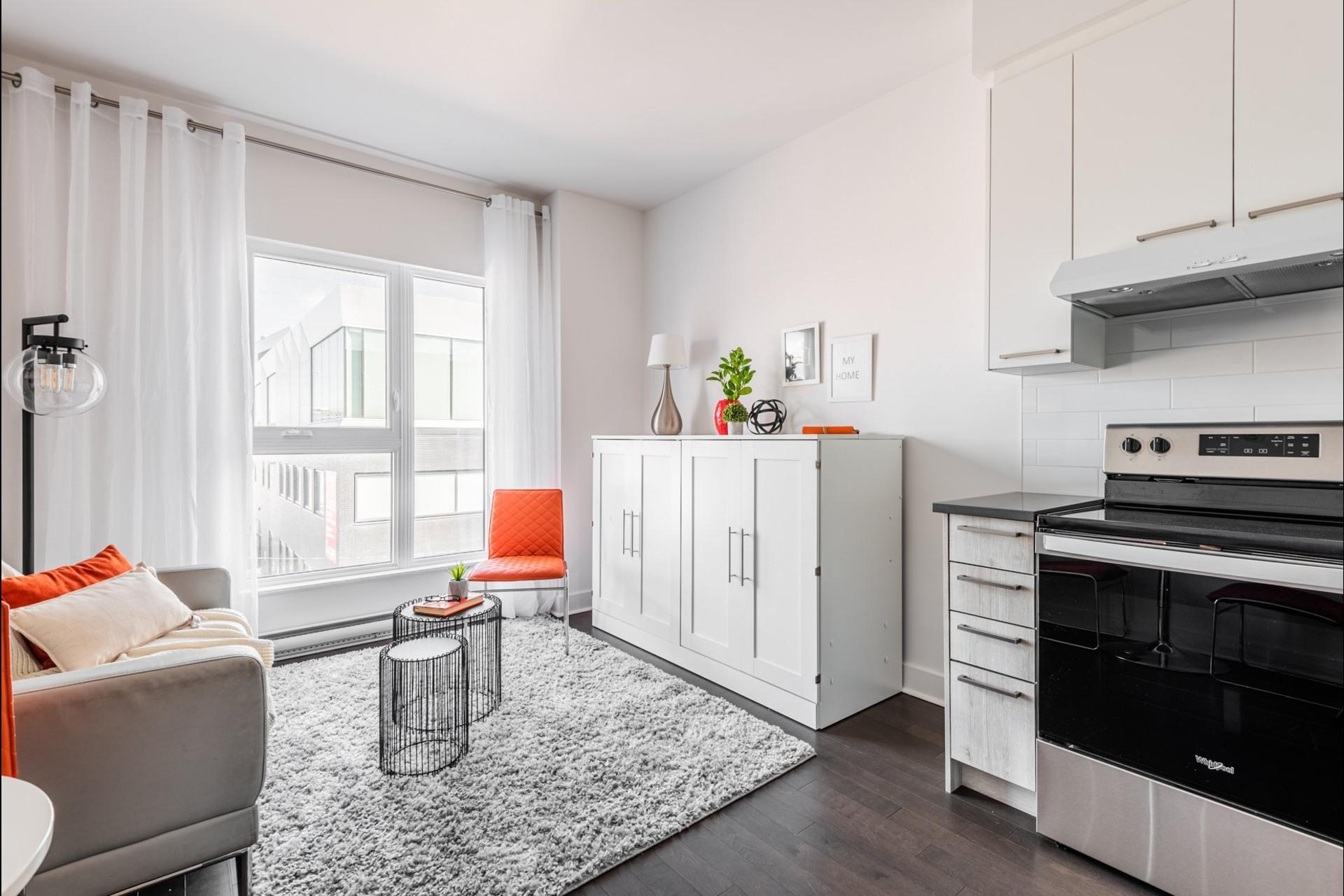 image 1 - Apartment For sale Villeray/Saint-Michel/Parc-Extension Montréal  - 3 rooms