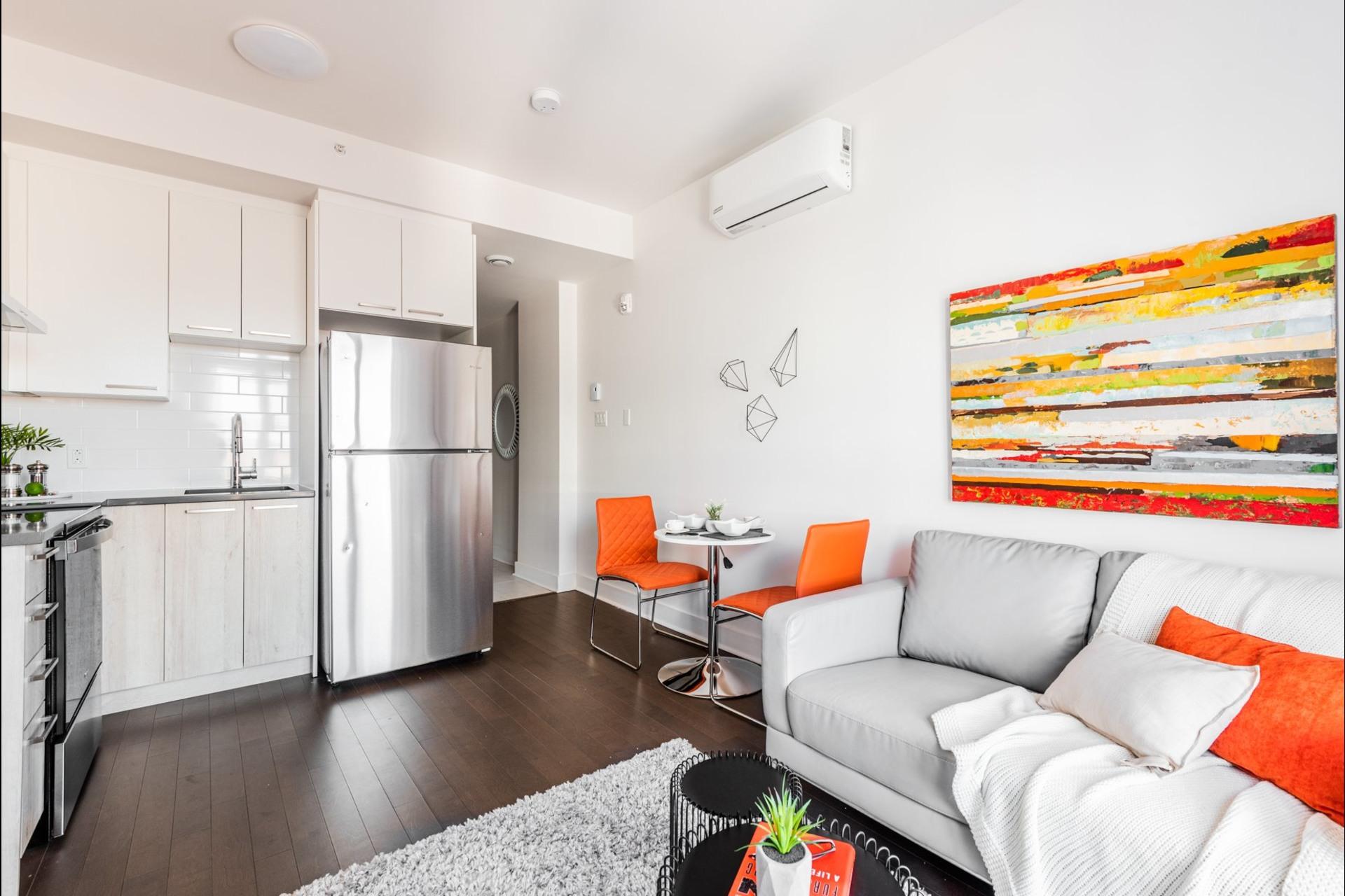 image 6 - Apartment For sale Villeray/Saint-Michel/Parc-Extension Montréal  - 3 rooms