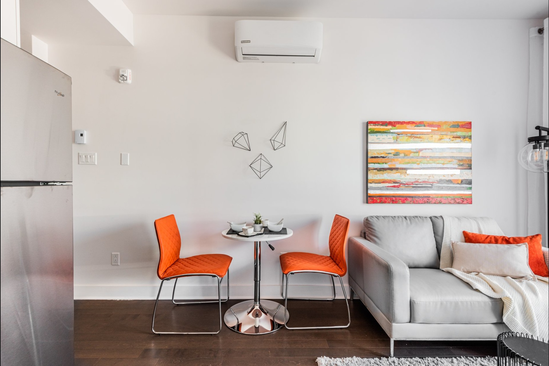 image 4 - Apartment For sale Villeray/Saint-Michel/Parc-Extension Montréal  - 3 rooms