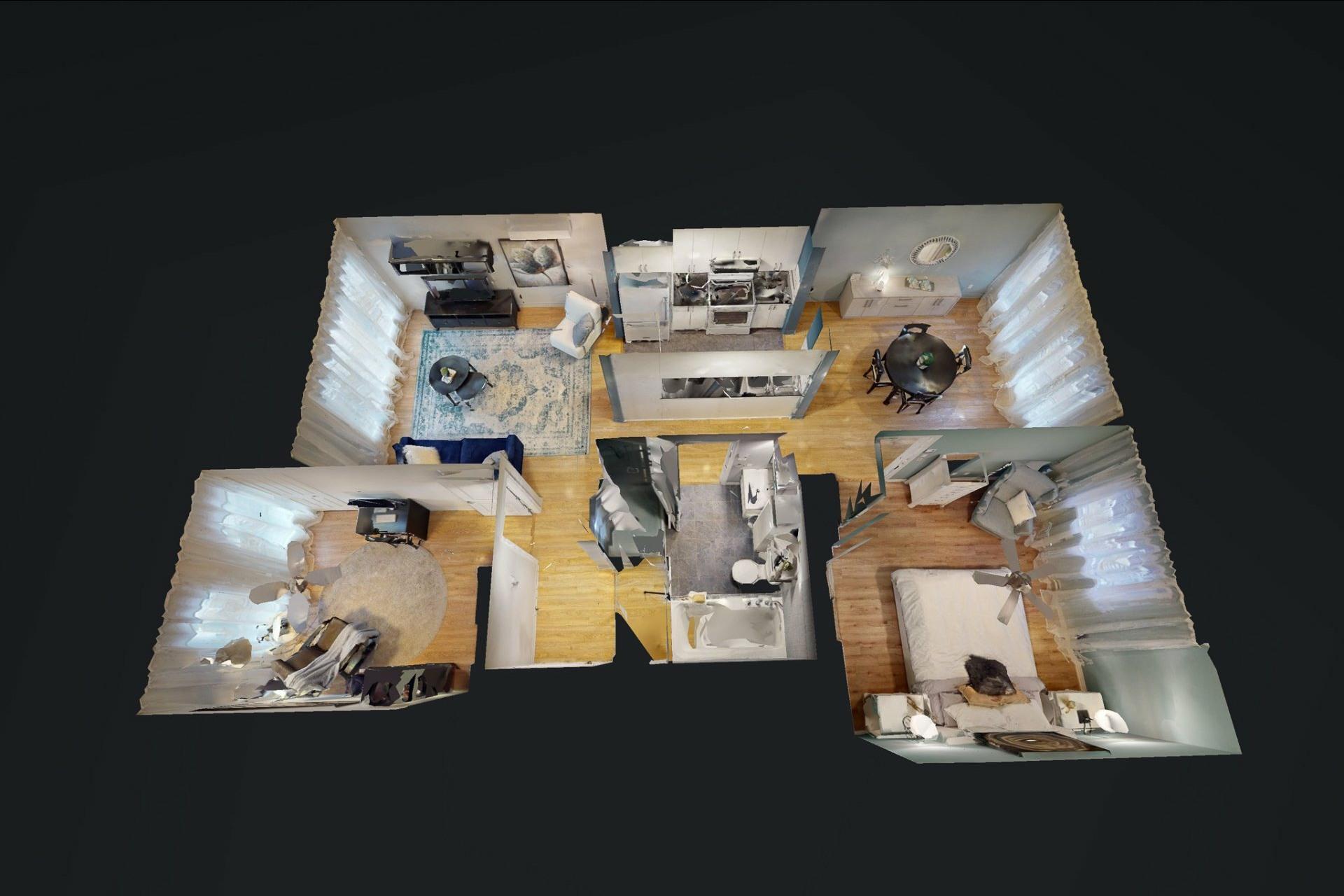 image 15 - Appartement À vendre Mercier/Hochelaga-Maisonneuve Montréal  - 7 pièces