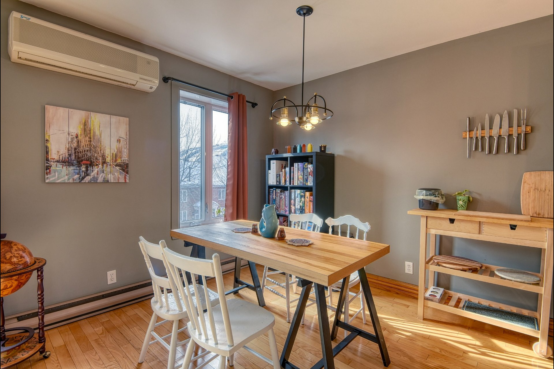 image 1 - Apartment For sale Mercier/Hochelaga-Maisonneuve Montréal  - 6 rooms