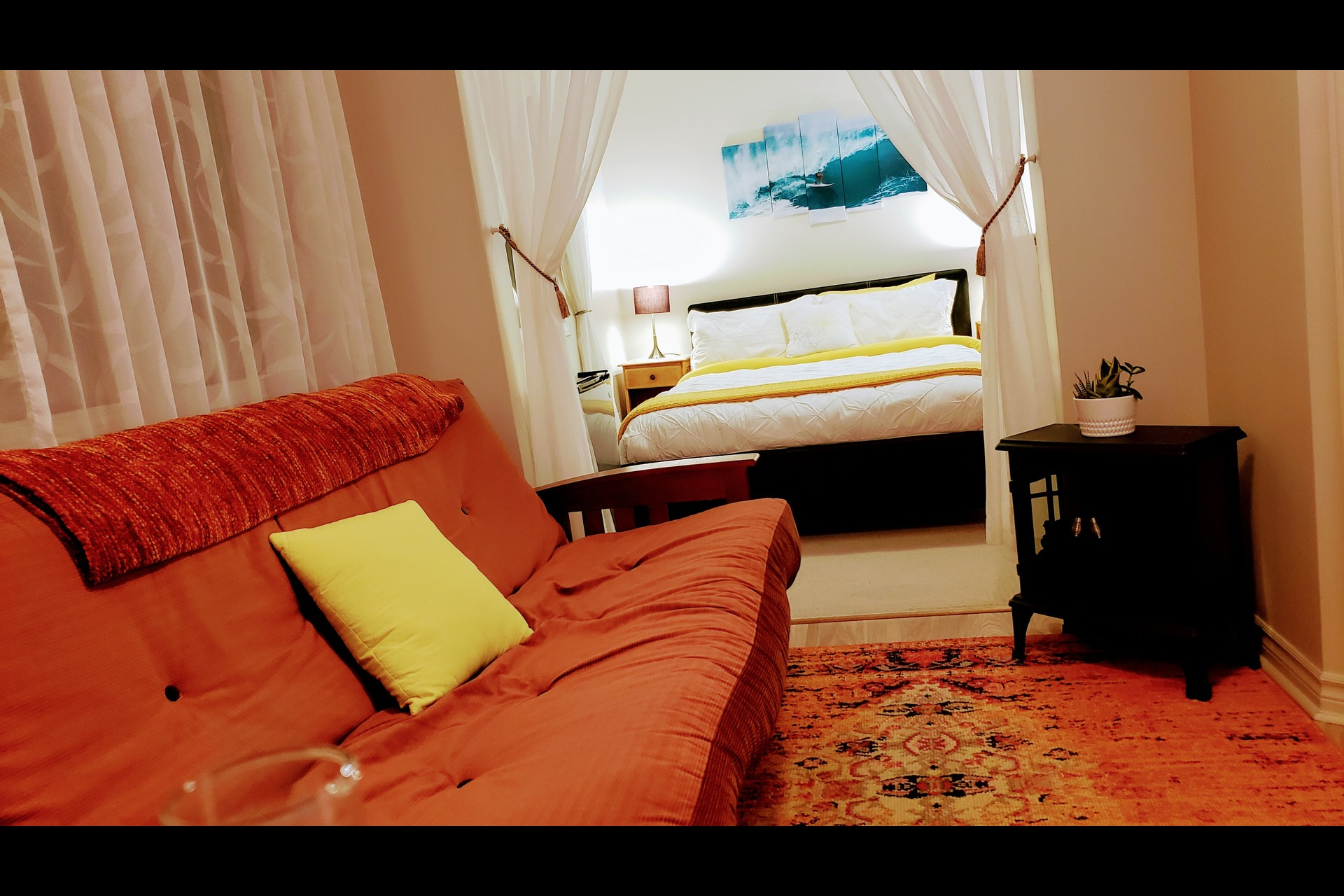 image 3 - Waterfront Short rental Gatineau District des Riverains - 1 room