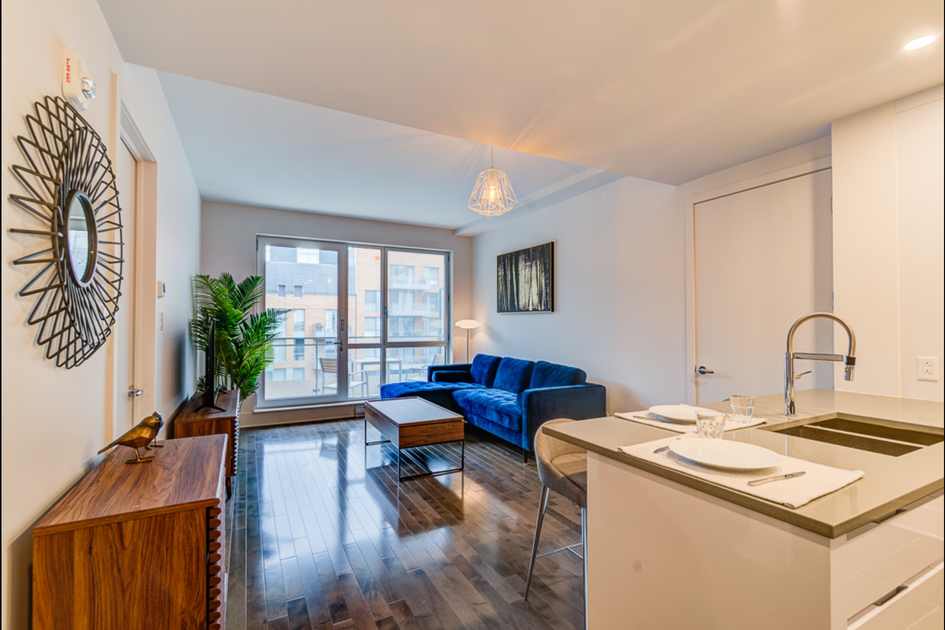 Condo For rent Montréal - 3 rooms