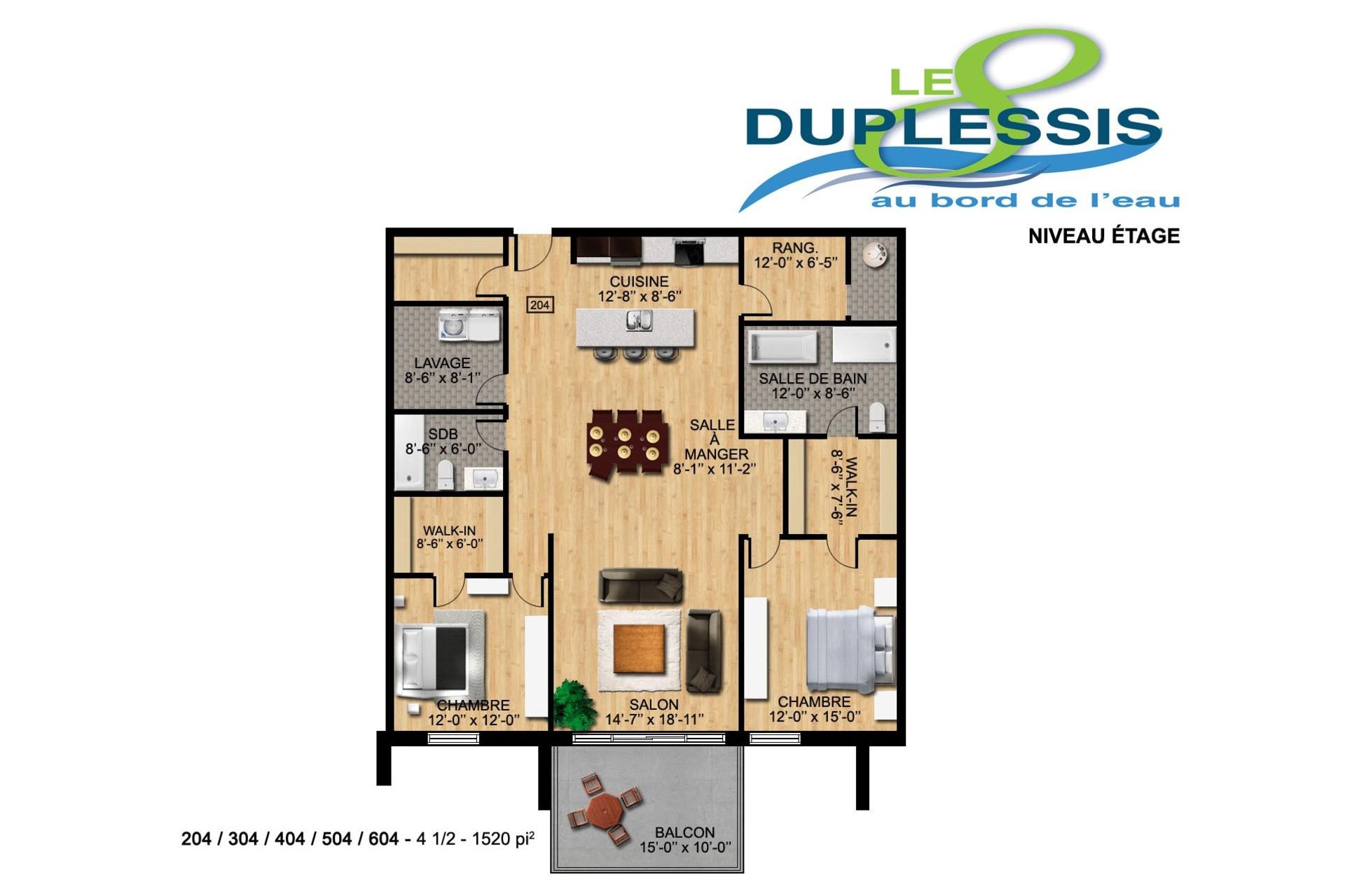 image 1 - Appartement À vendre Trois-Rivières - 5 pièces