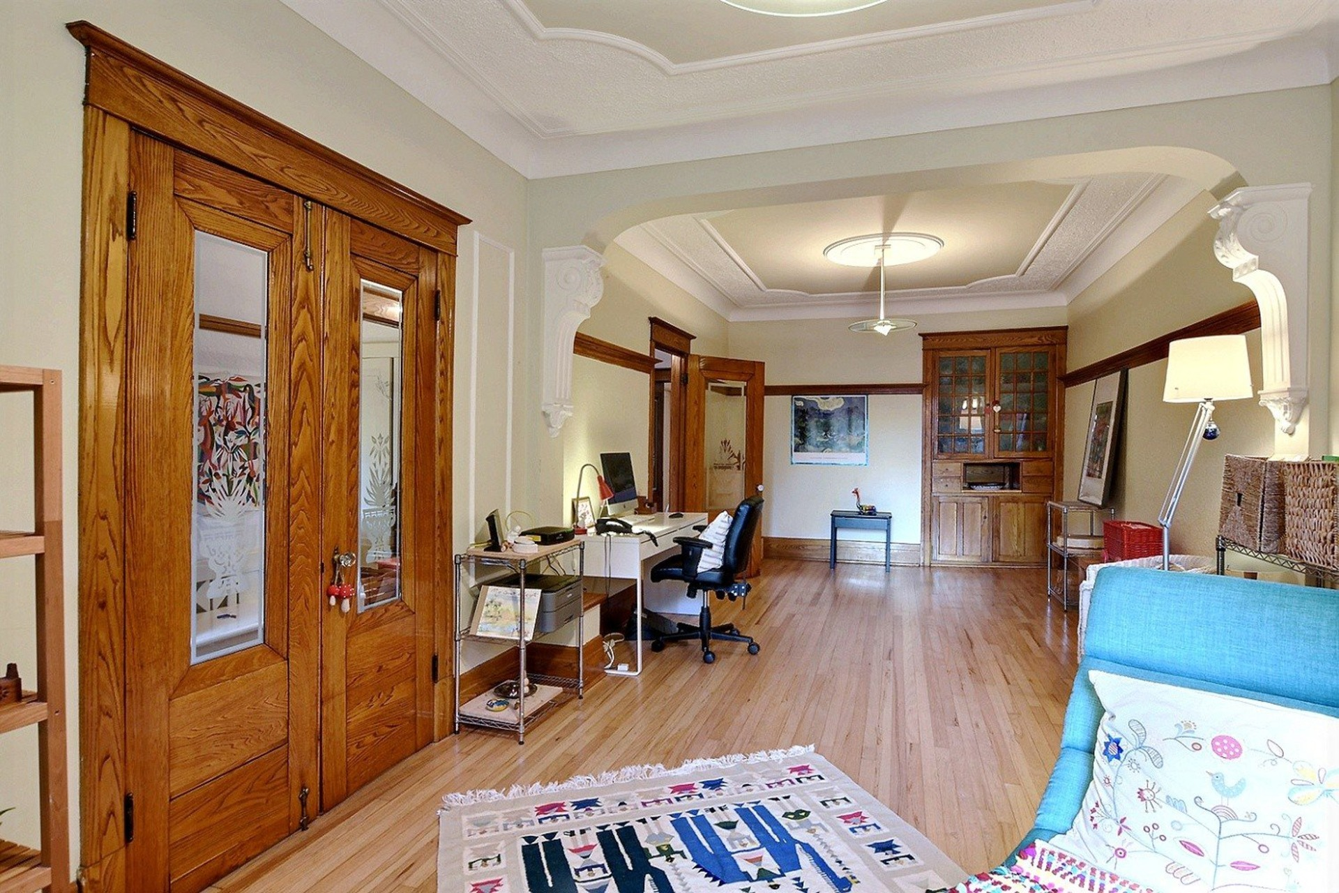 image 4 - Quintuplex For sale Montréal Villeray/Saint-Michel/Parc-Extension  - 8 rooms