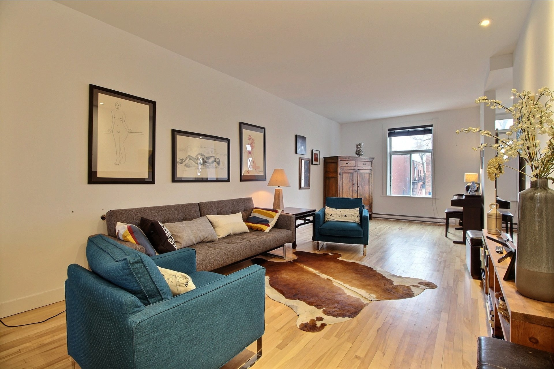 Apartment For rent Montréal Ahuntsic-Cartierville  - 2 rooms