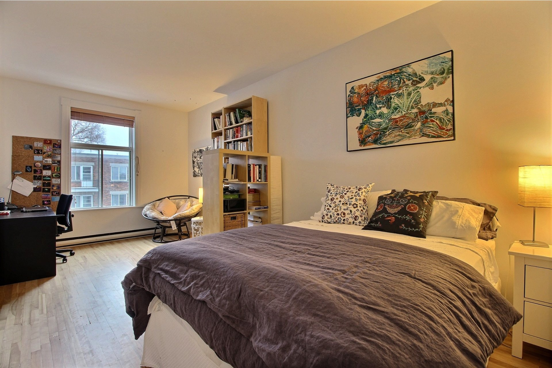 image 13 - Apartment For rent Montréal Ahuntsic-Cartierville  - 2 rooms